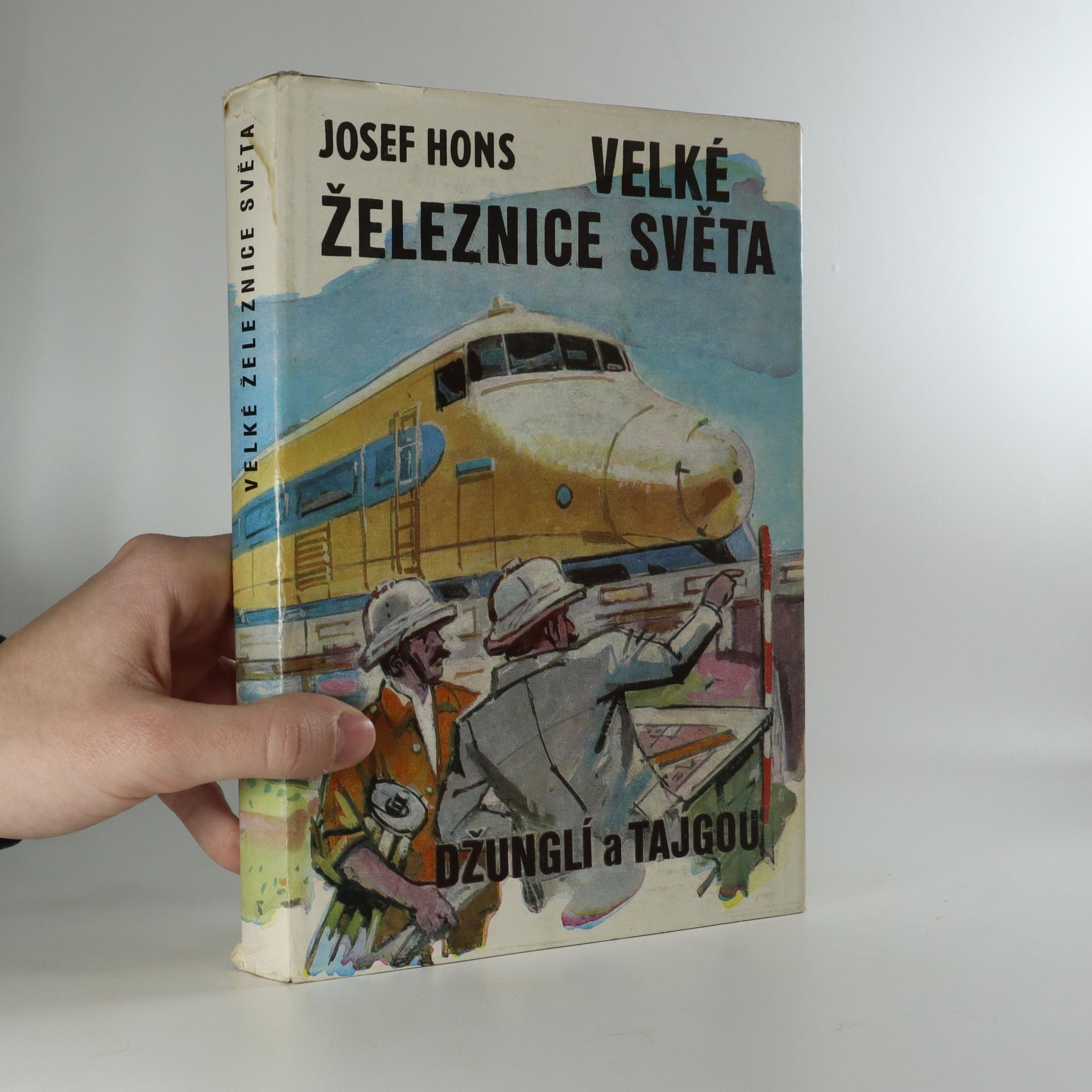antikvární kniha Velké železnice světa (džunglí a tajgou), 1981
