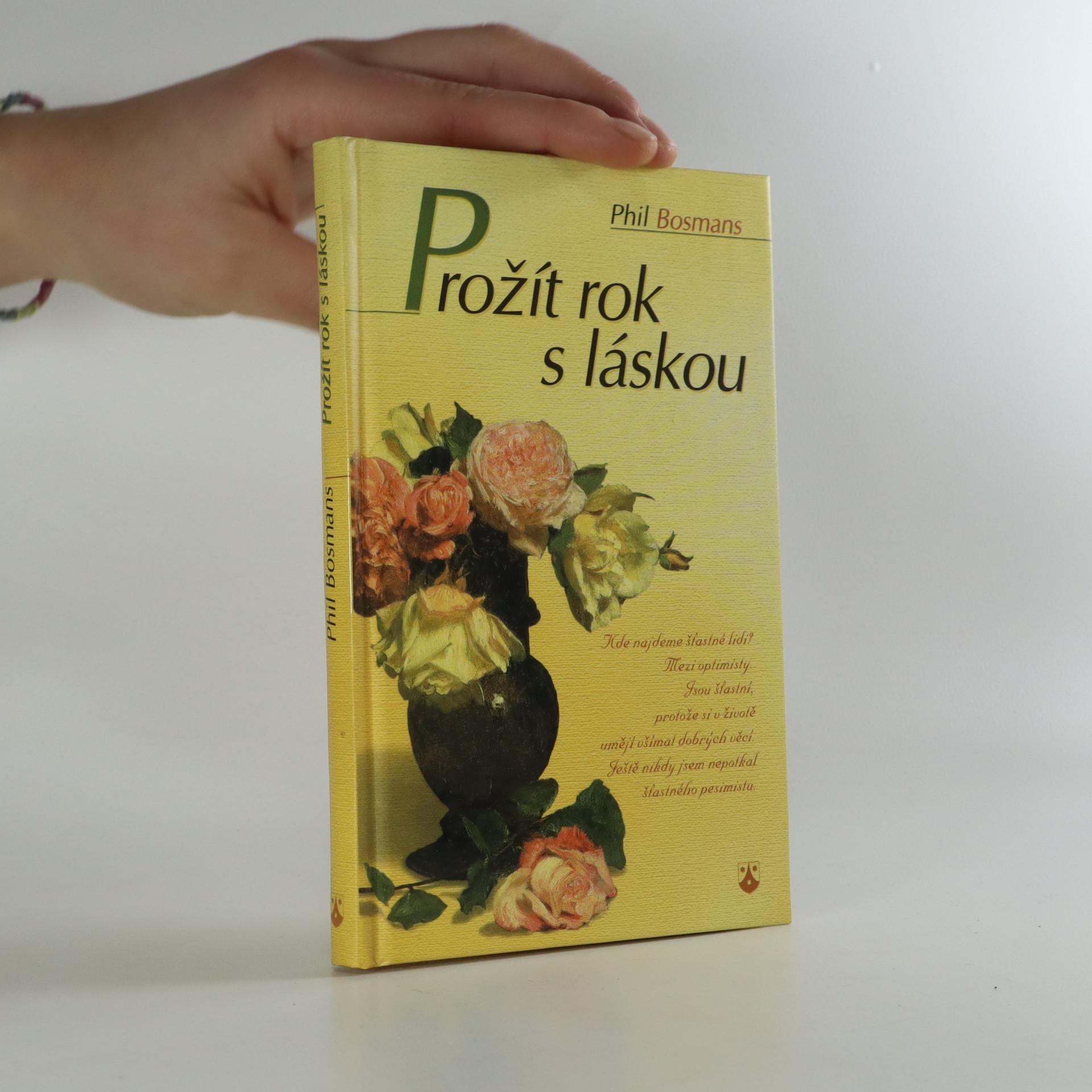 antikvární kniha Prožít rok s láskou (je cítit kouřem), 2001