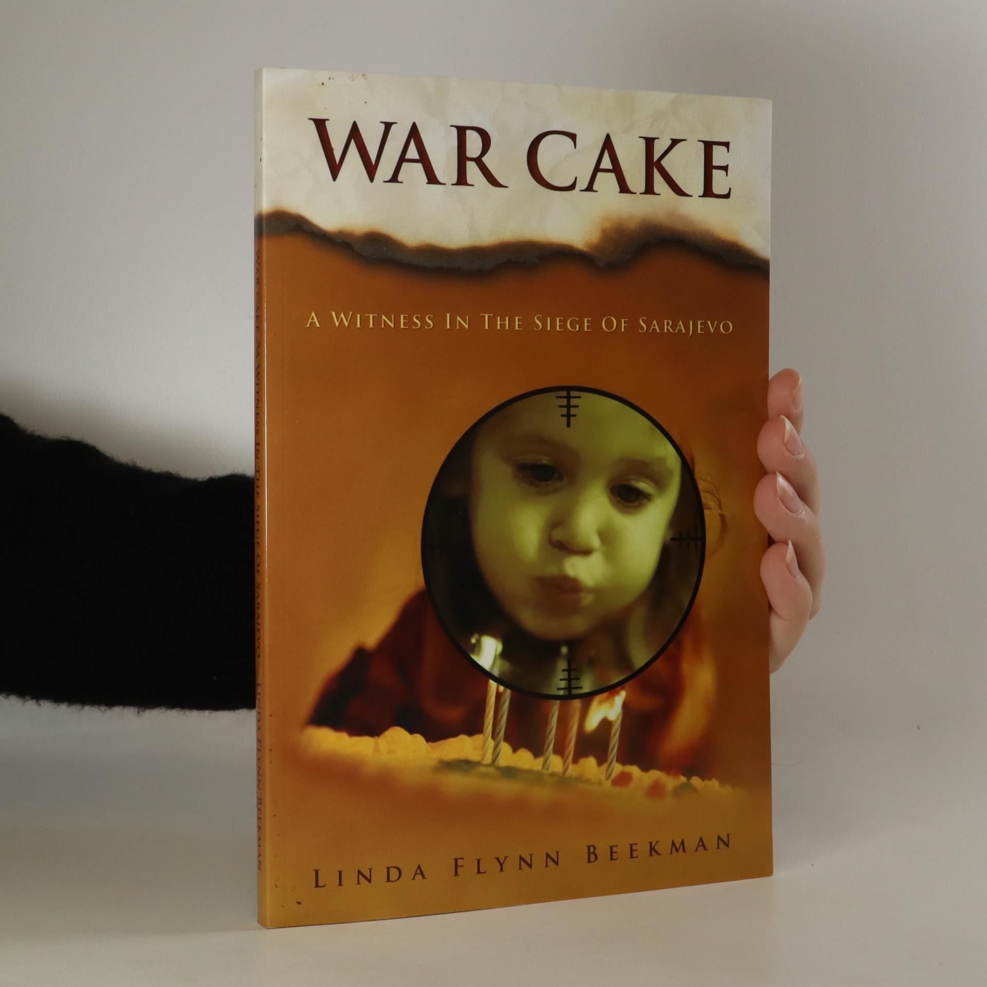 antikvární kniha War Cake (věnování autorky), neuveden