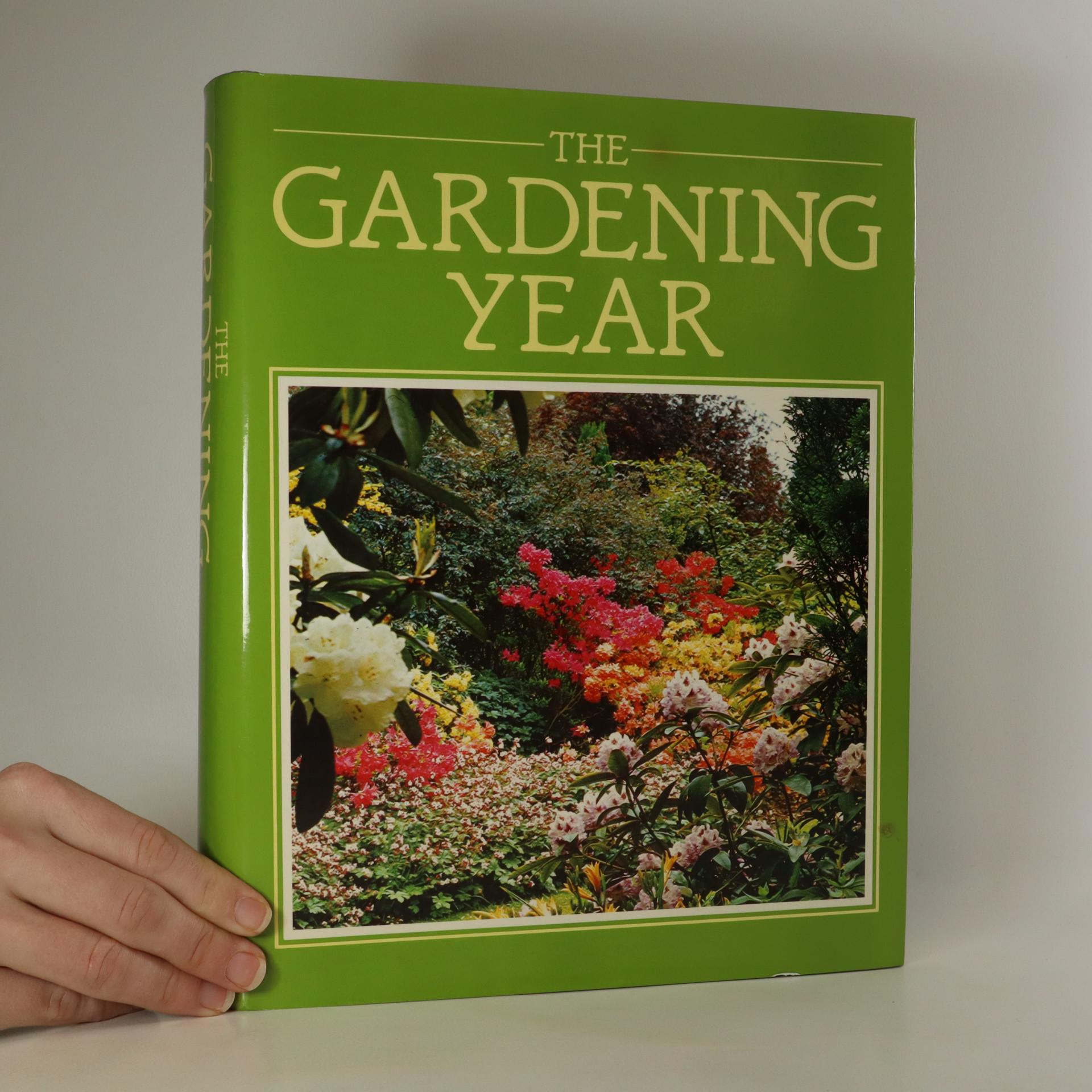antikvární kniha The Gardening Year, 1985