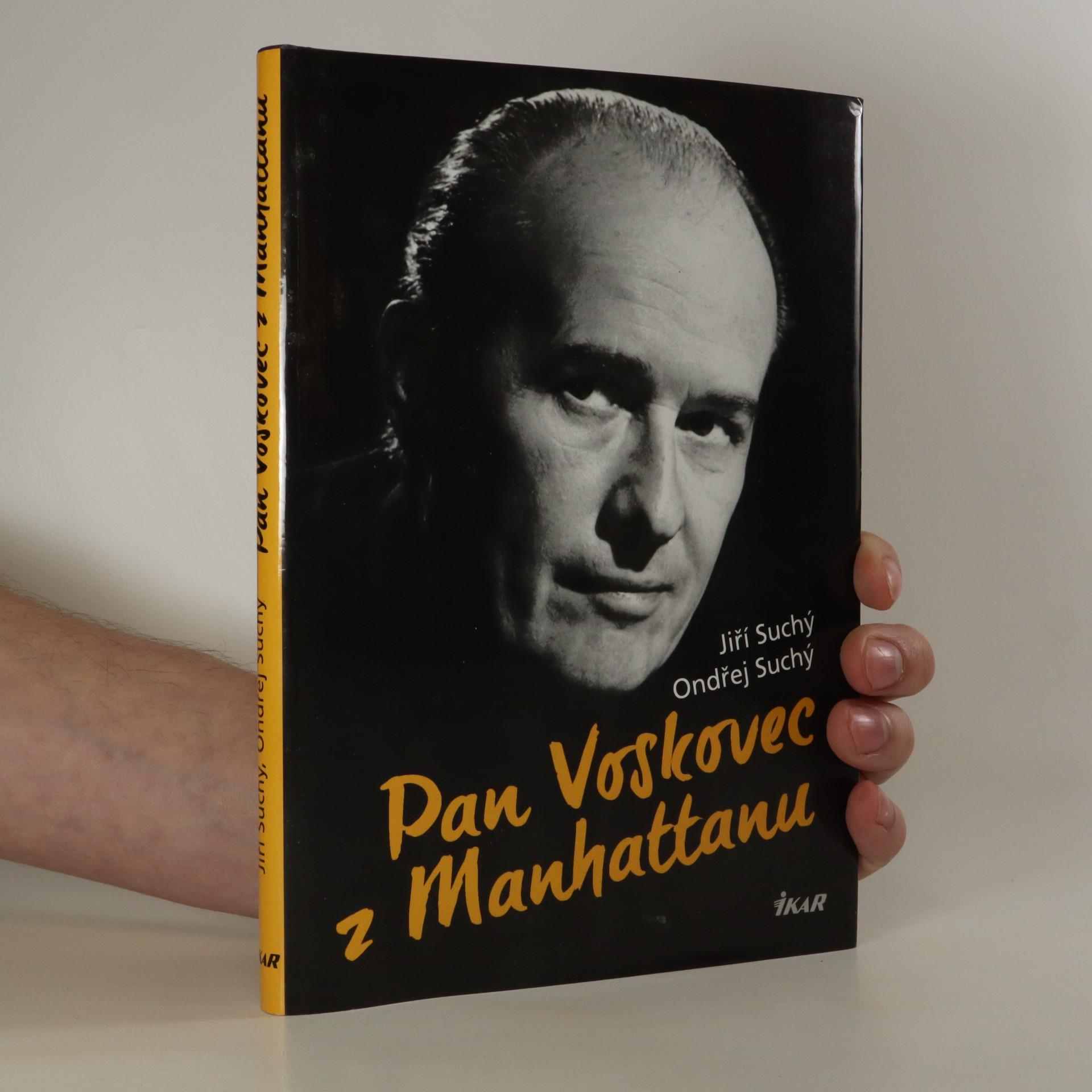 antikvární kniha Pan Voskovec z Manhattanu, 2016