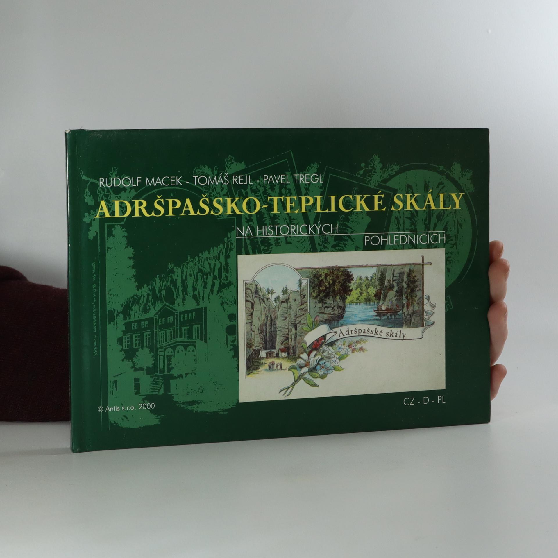 antikvární kniha Adršpašsko-teplické skály na historických pohlednicích, 2000