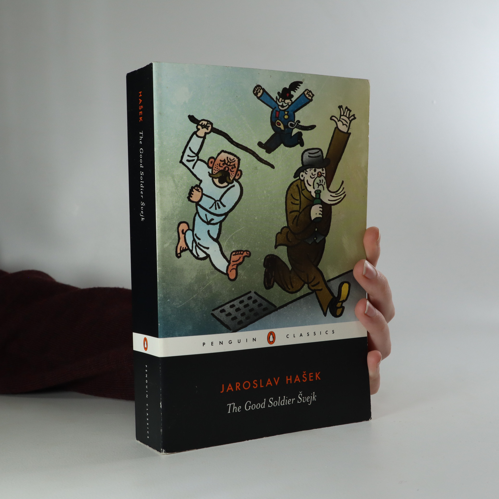 antikvární kniha The Good Soldier Švejk and His Fortunes in the World War, 2000