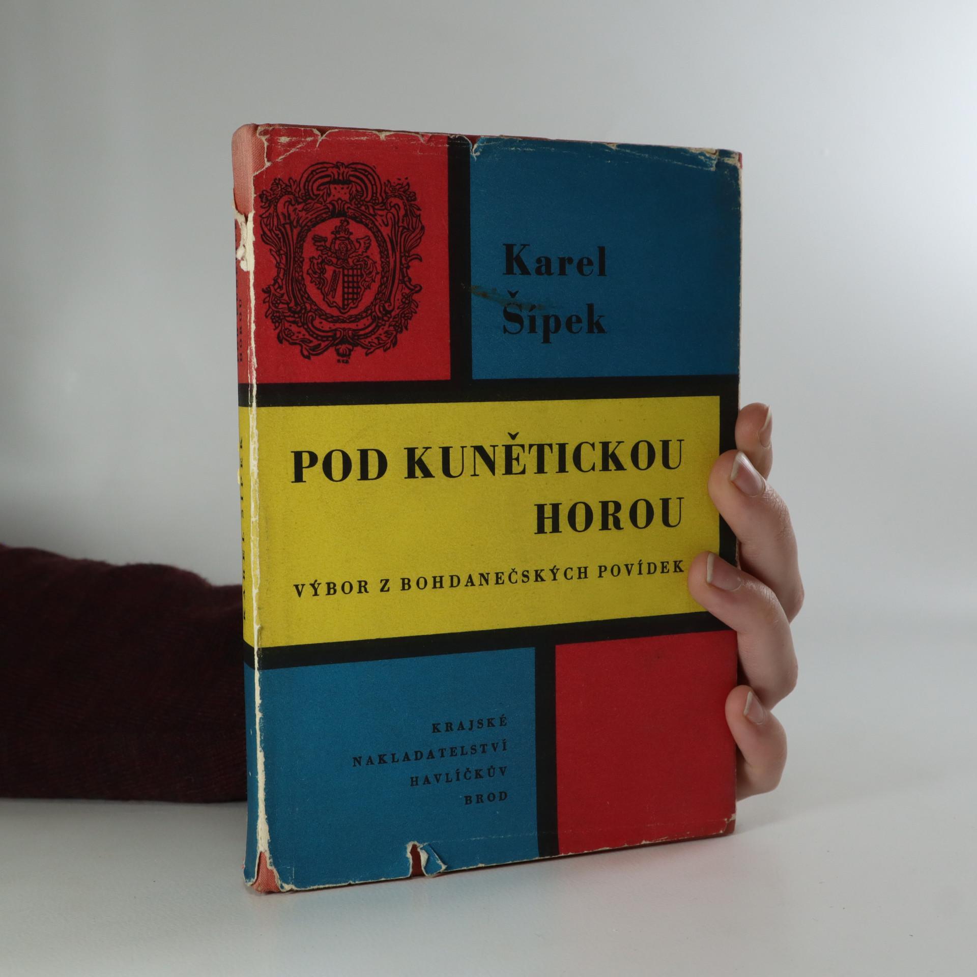 antikvární kniha Pod Kunětickou horou. Výbor z bohdanečských povídek, 1961