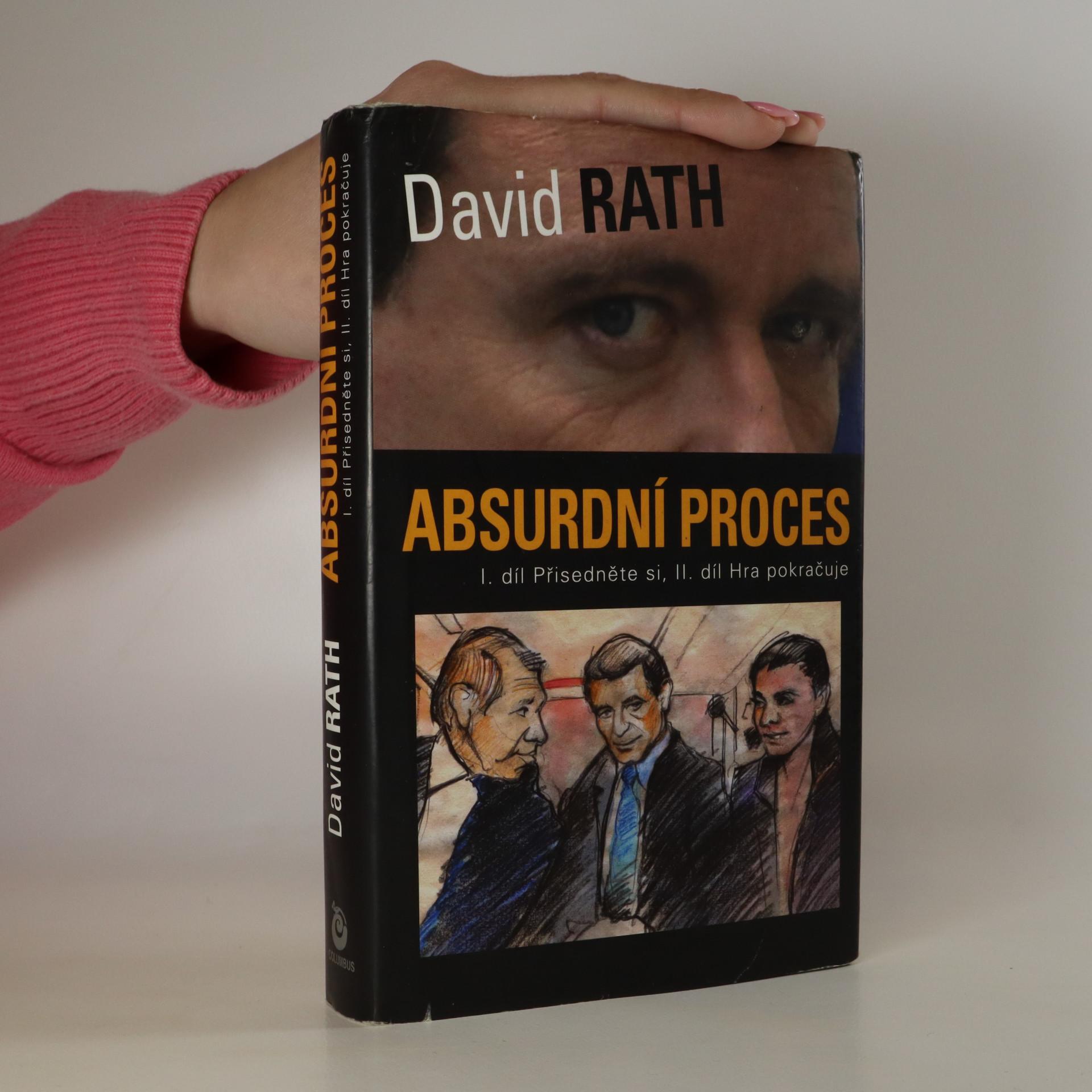 antikvární kniha Absurdní proces. I. díl Přisedněte si. II. díl Hra pokračuje, 2013