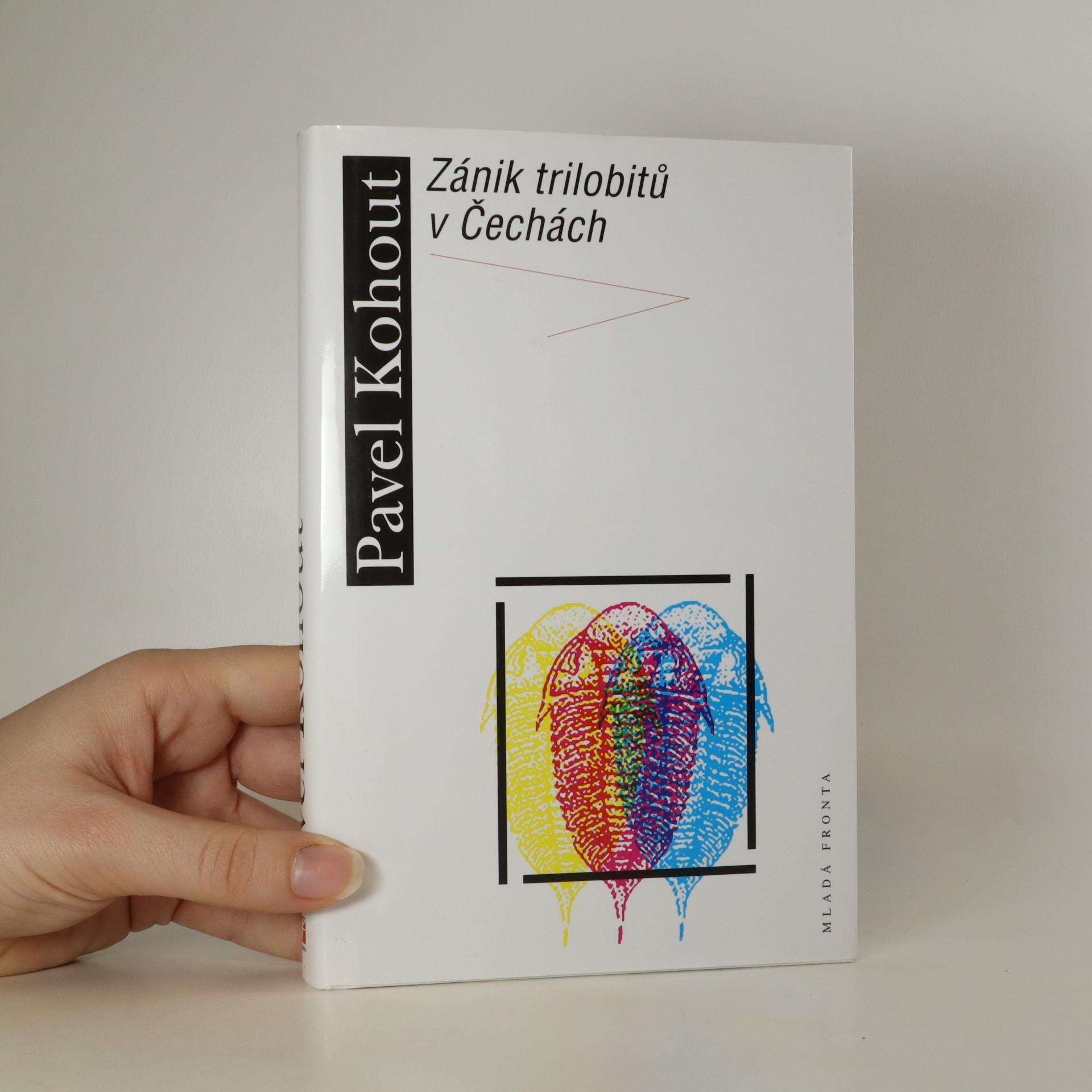 antikvární kniha Zánik trilobitů v Čechách, 2014