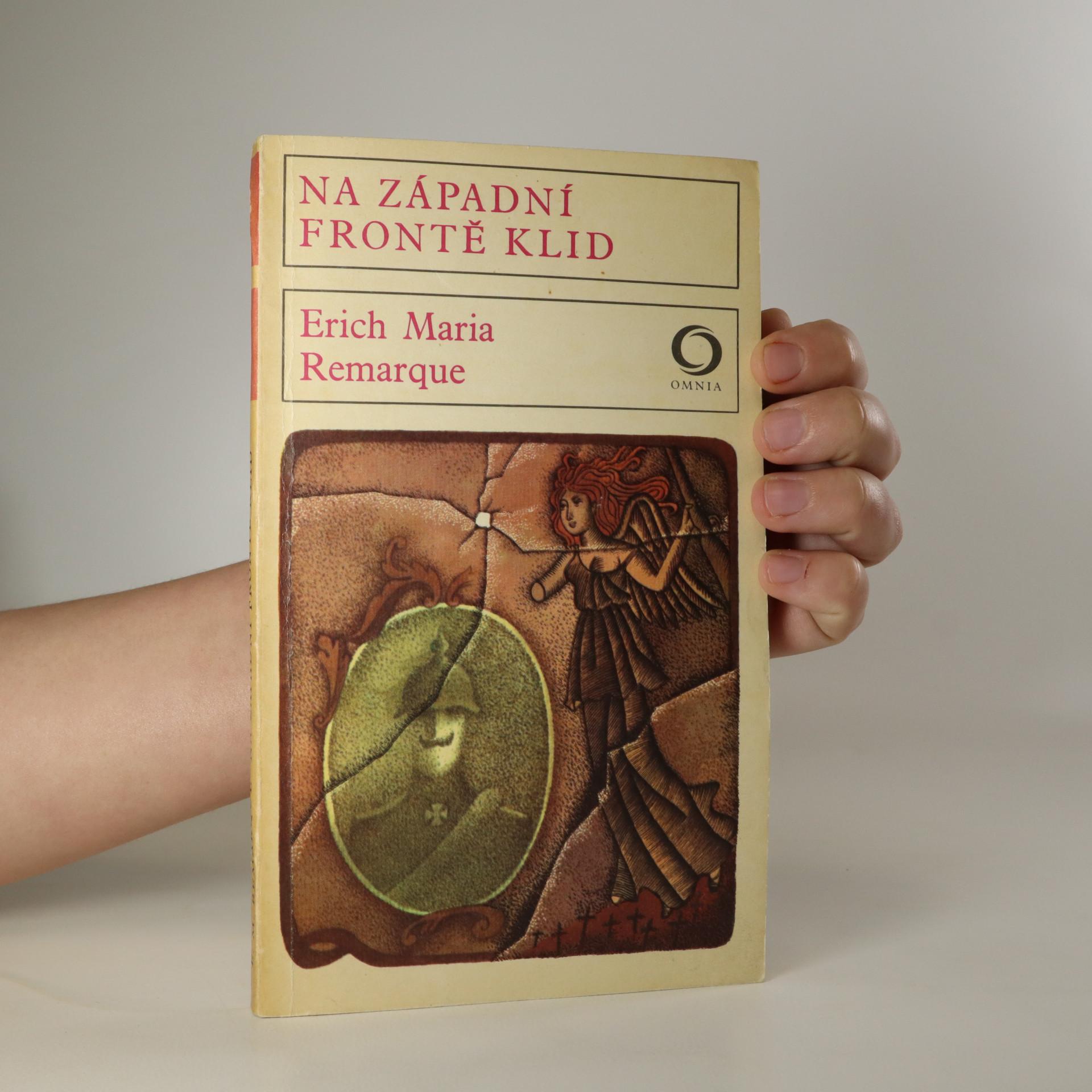 antikvární kniha Na západní frontě klid, 1975