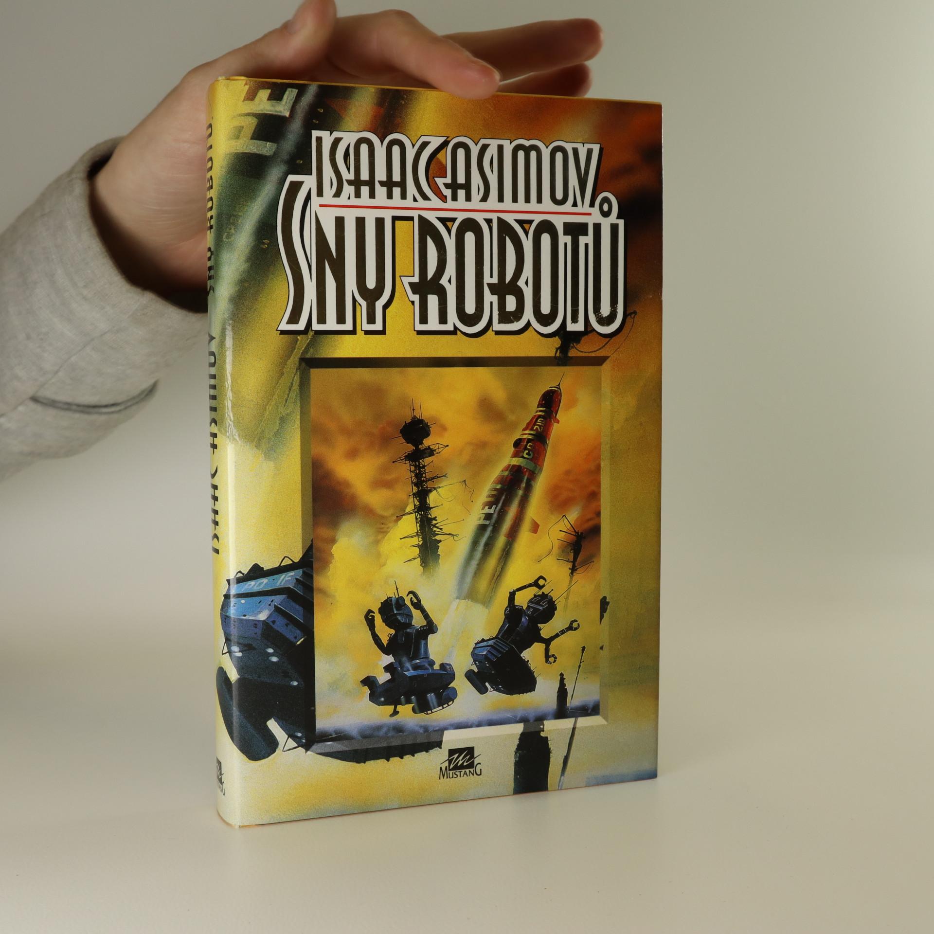 antikvární kniha Sny robotů, 1996