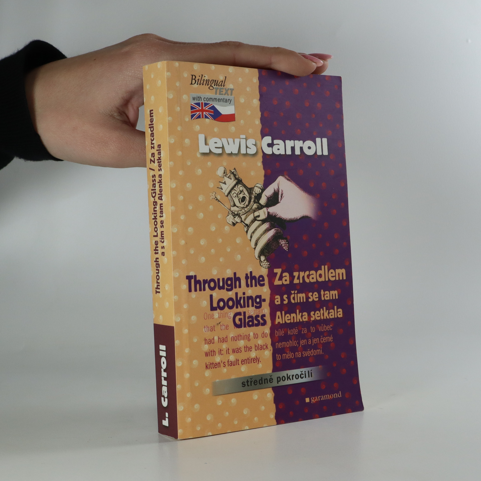 antikvární kniha Through the looking-glass. Za zrcadlem a s čím se tam Alenka setkala, 2004