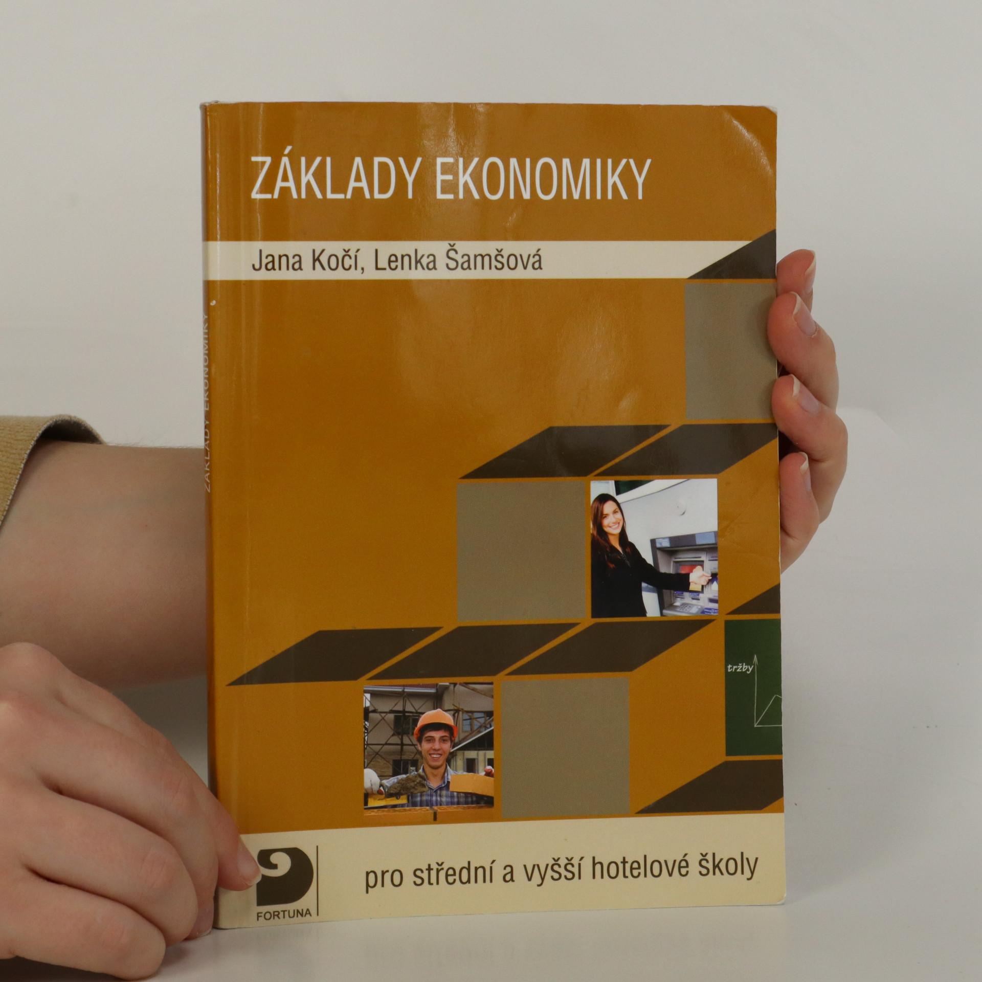 antikvární kniha Základy ekonomiky , 2009