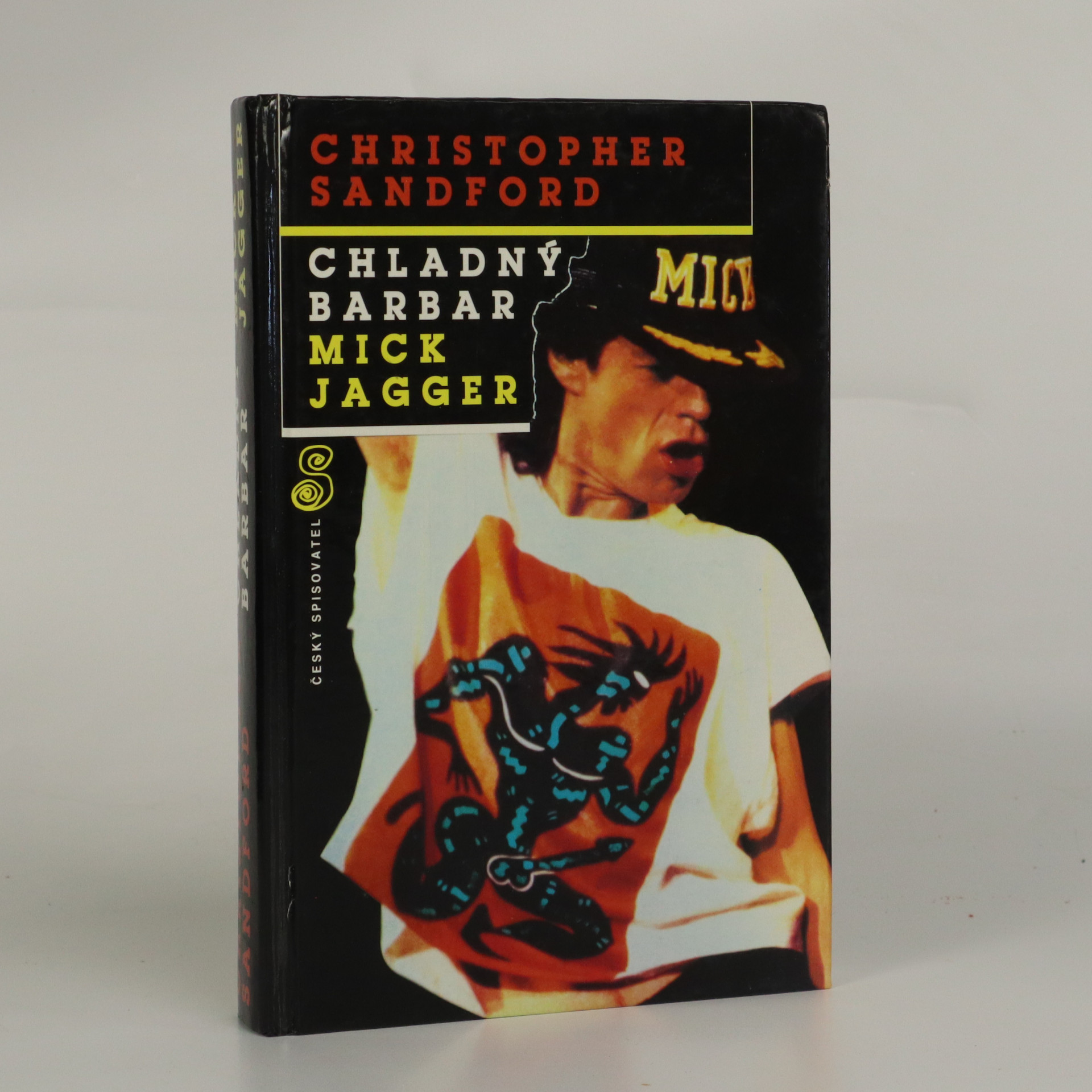 antikvární kniha Chladný barbar Mick Jagger, 1994