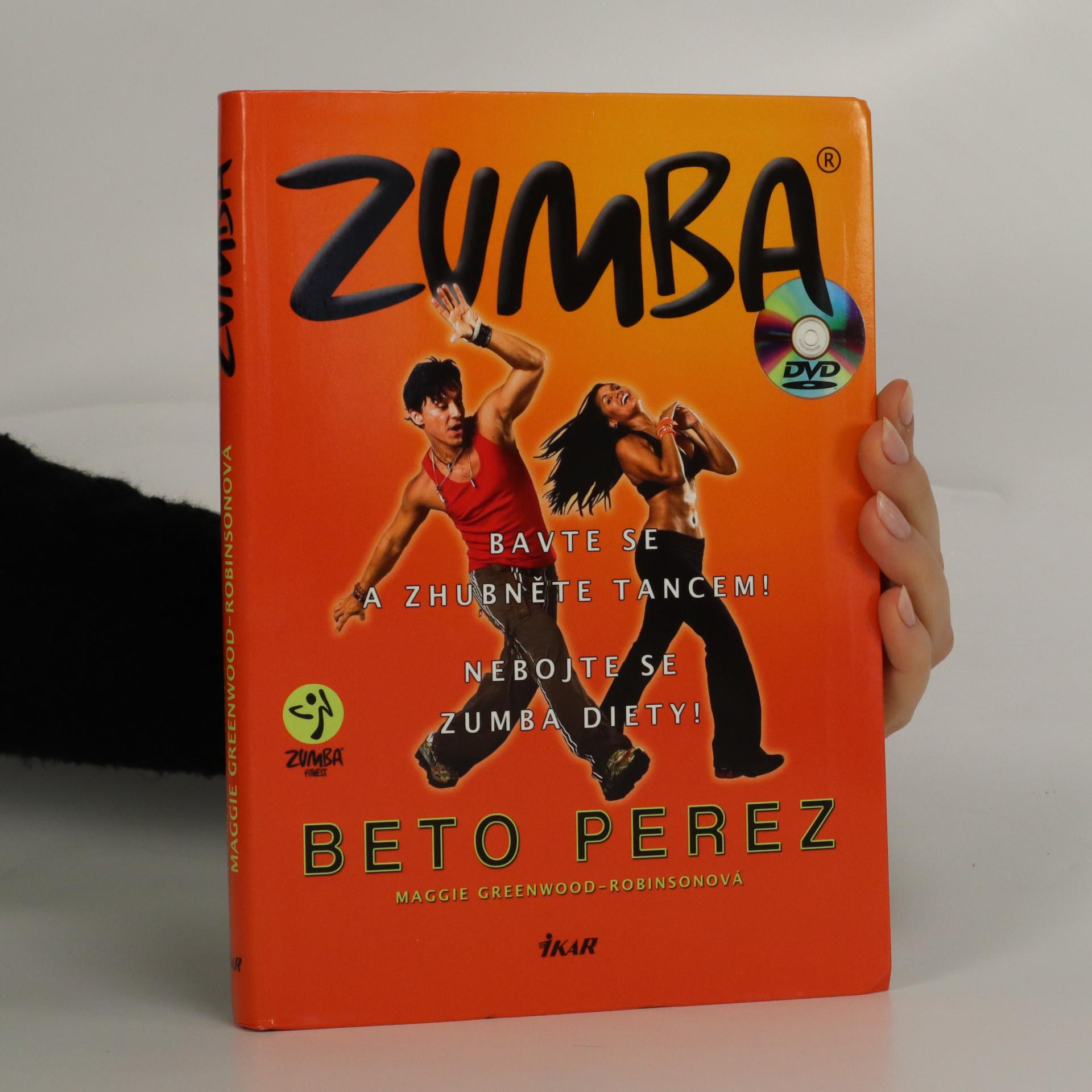 antikvární kniha Zumba. Bavte se a zhubněte tancem!, 2010