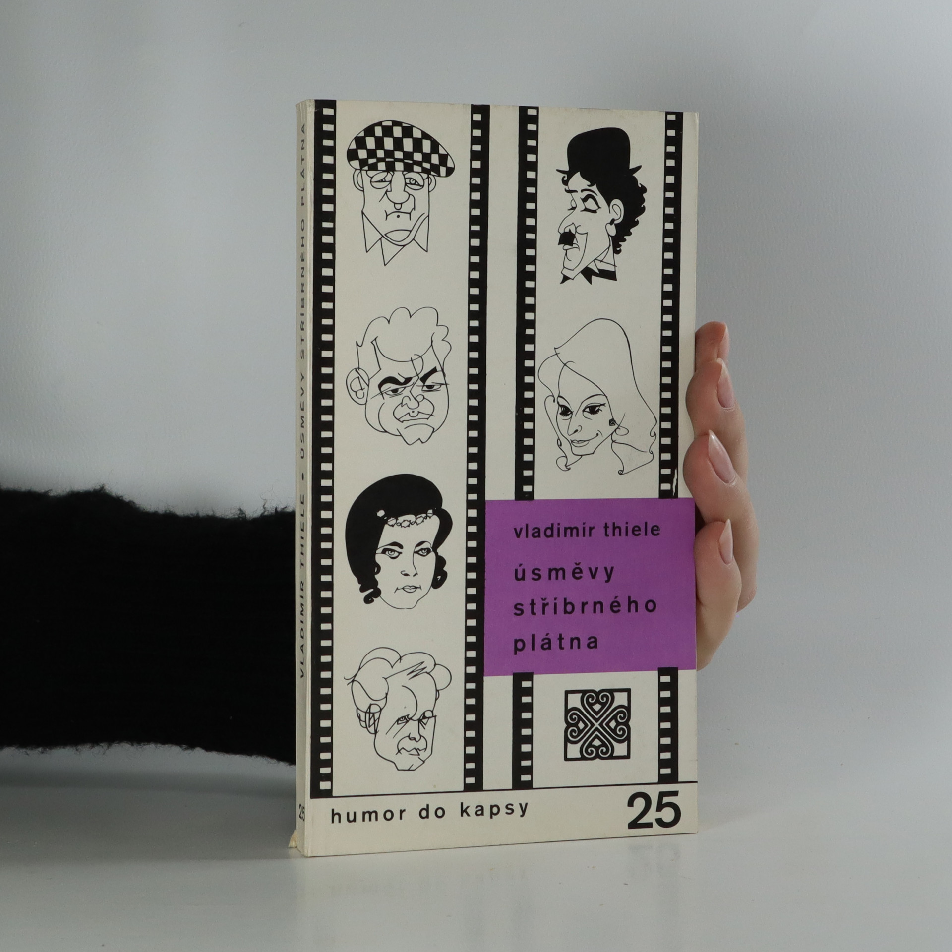 antikvární kniha Úsměvy stříbrného plátna, 1986