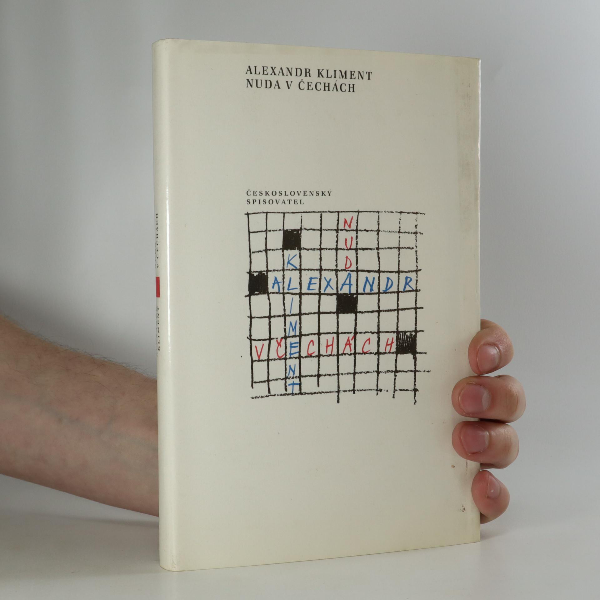 antikvární kniha Nuda v Čechách, 1990
