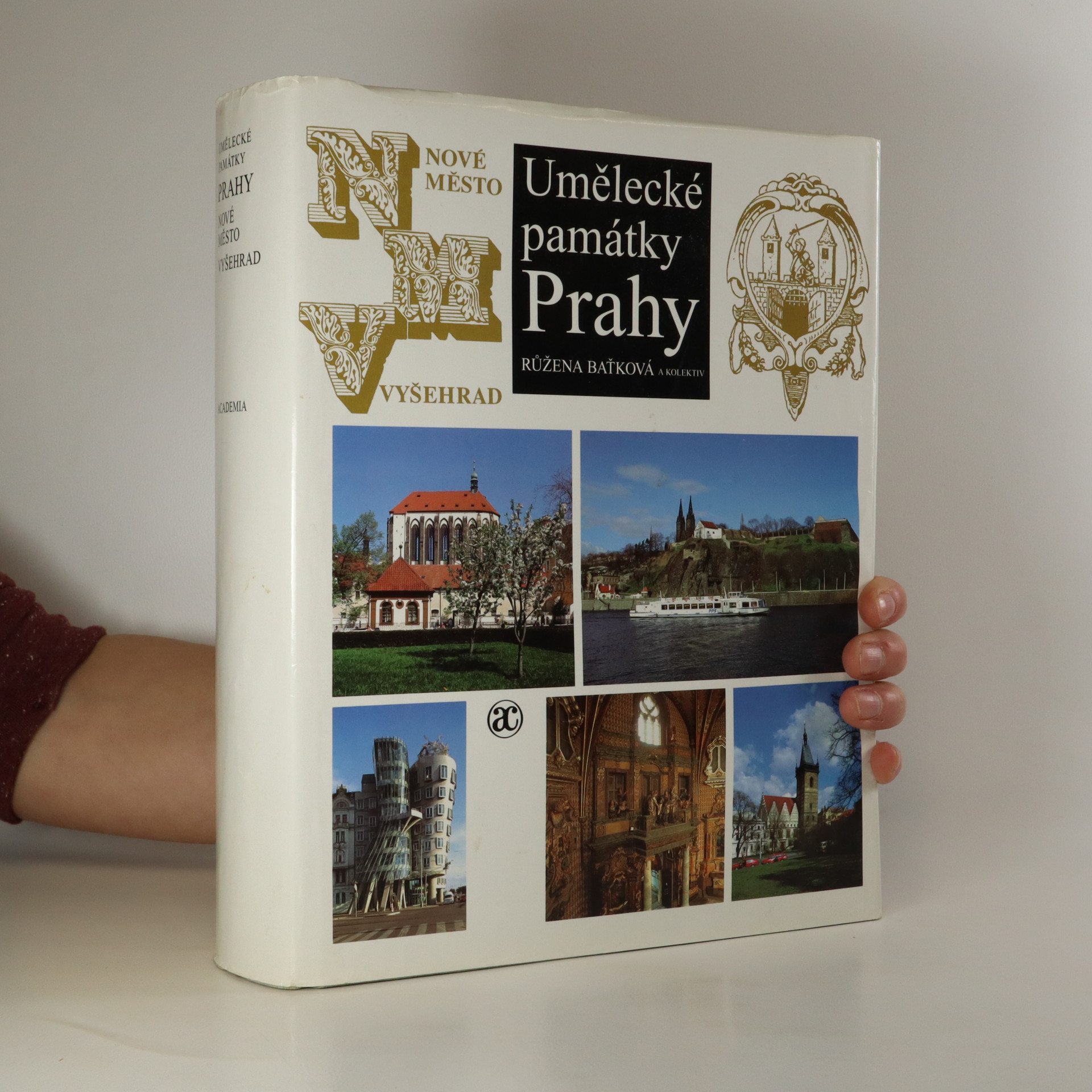 antikvární kniha Umělecké památky Prahy. Nové Město, Vyšehrad, Vinohrady (Praha 1), 1998