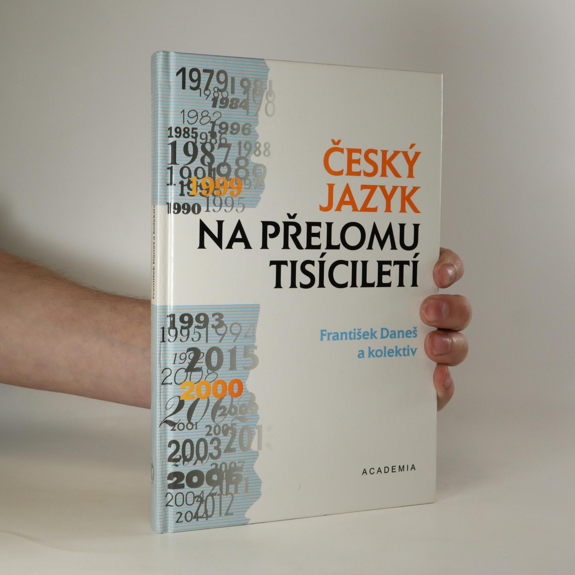 antikvární kniha Český jazyk na přelomu tisíciletí, 1997
