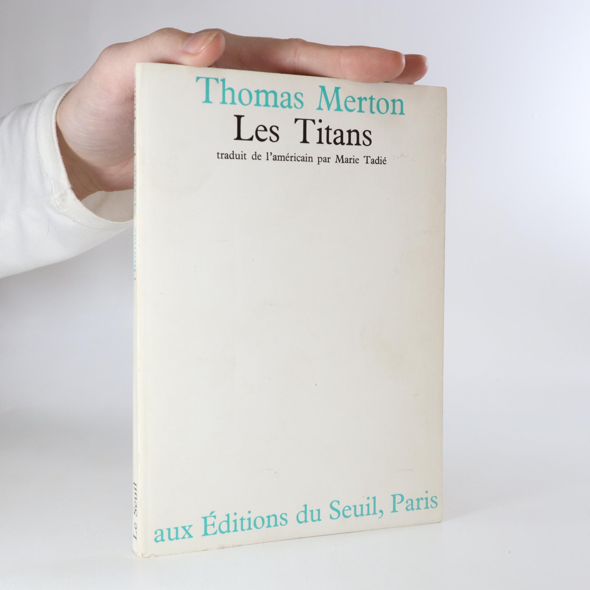 antikvární kniha Les Titans, 1971