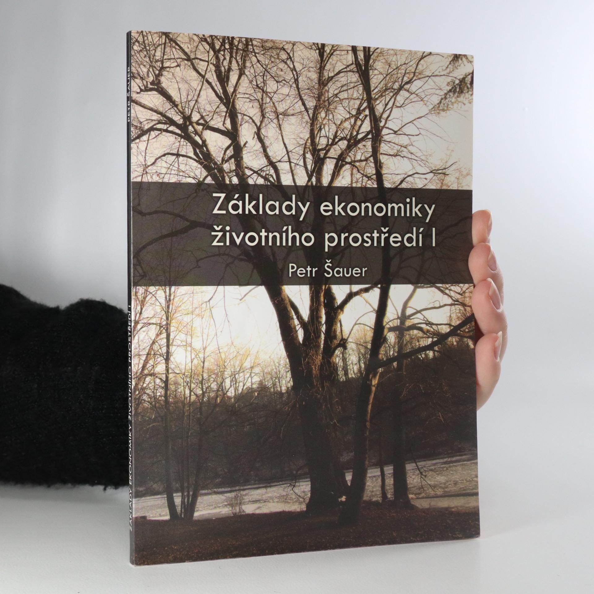 antikvární kniha Základy ekonomiky životního prostředí I, 2008