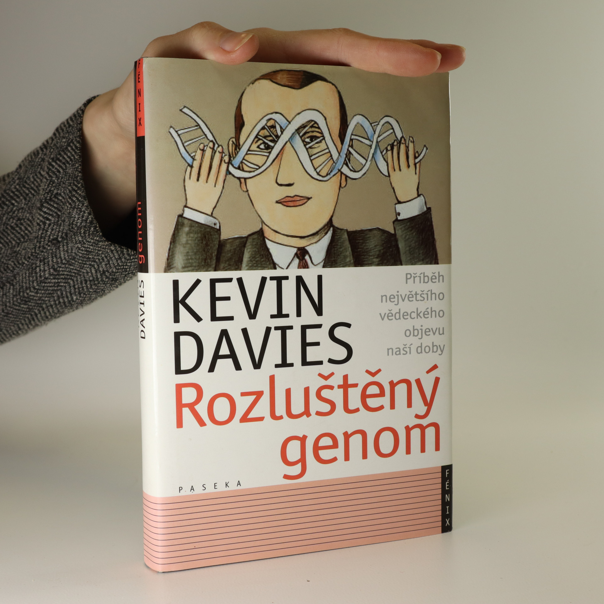 antikvární kniha Rozluštěný genom, 2002