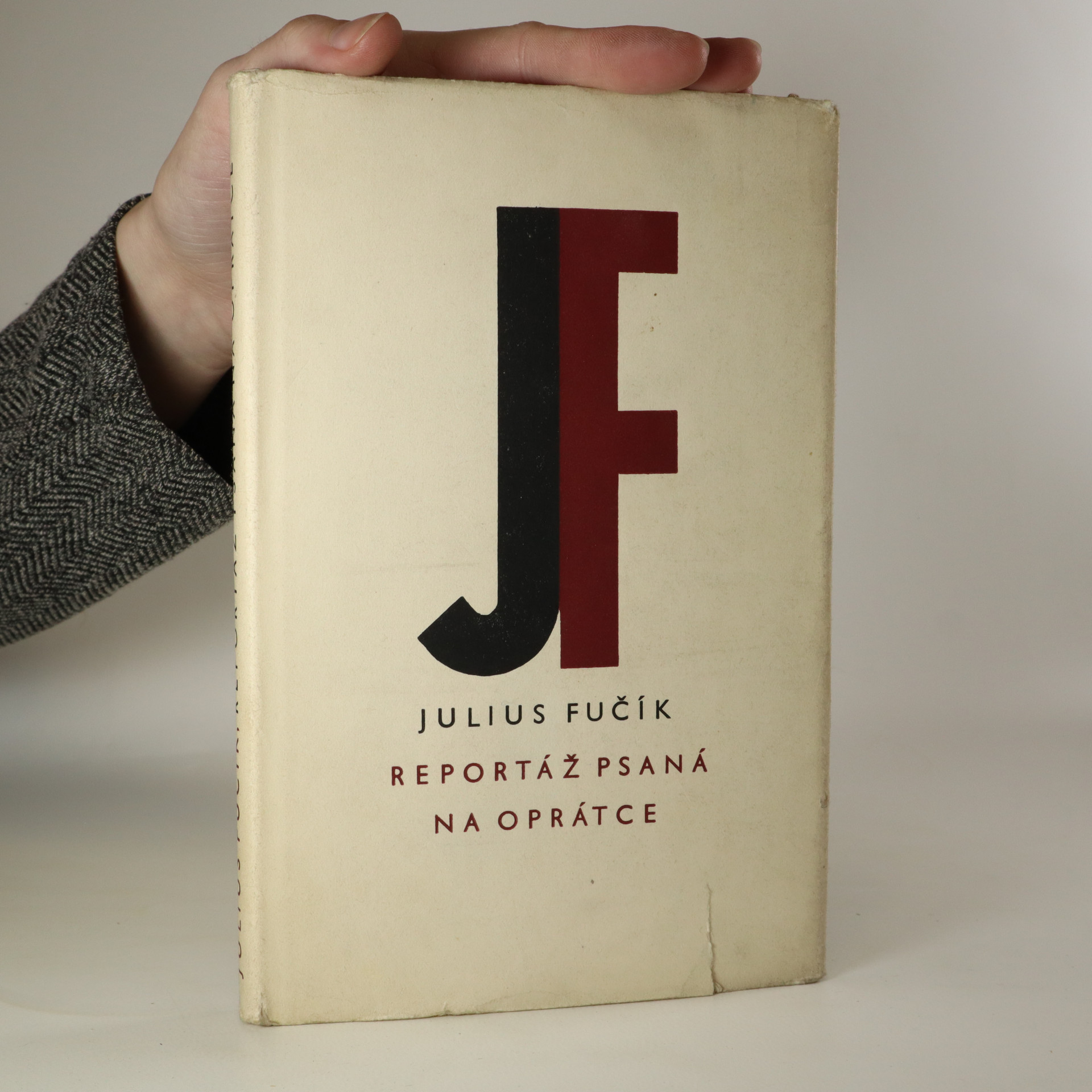 antikvární kniha Reportáž psaná na oprátce, 1962
