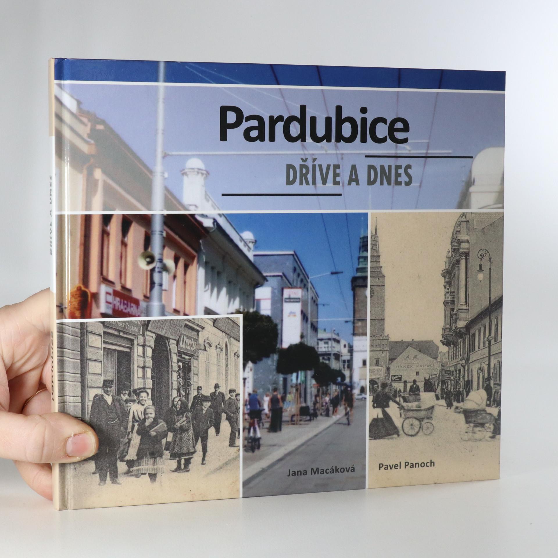 antikvární kniha Pardubice dříve a dnes, 2018