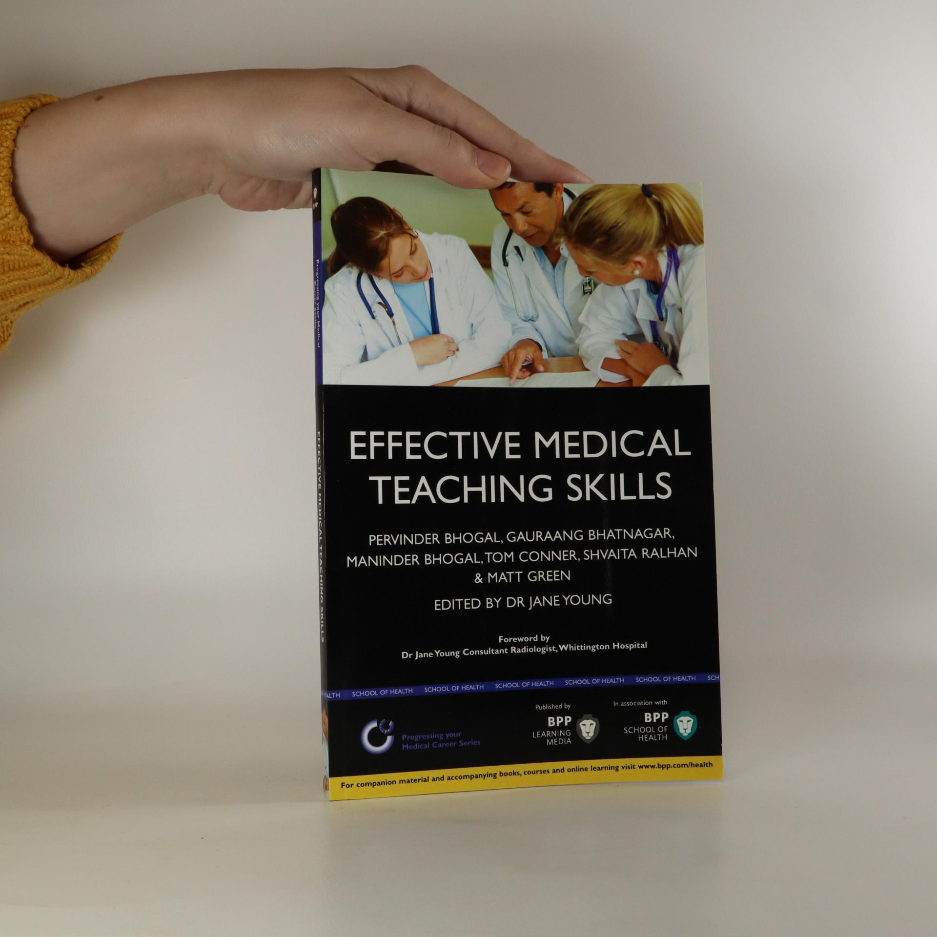 antikvární kniha Effective Medical Teaching Skills, neuveden
