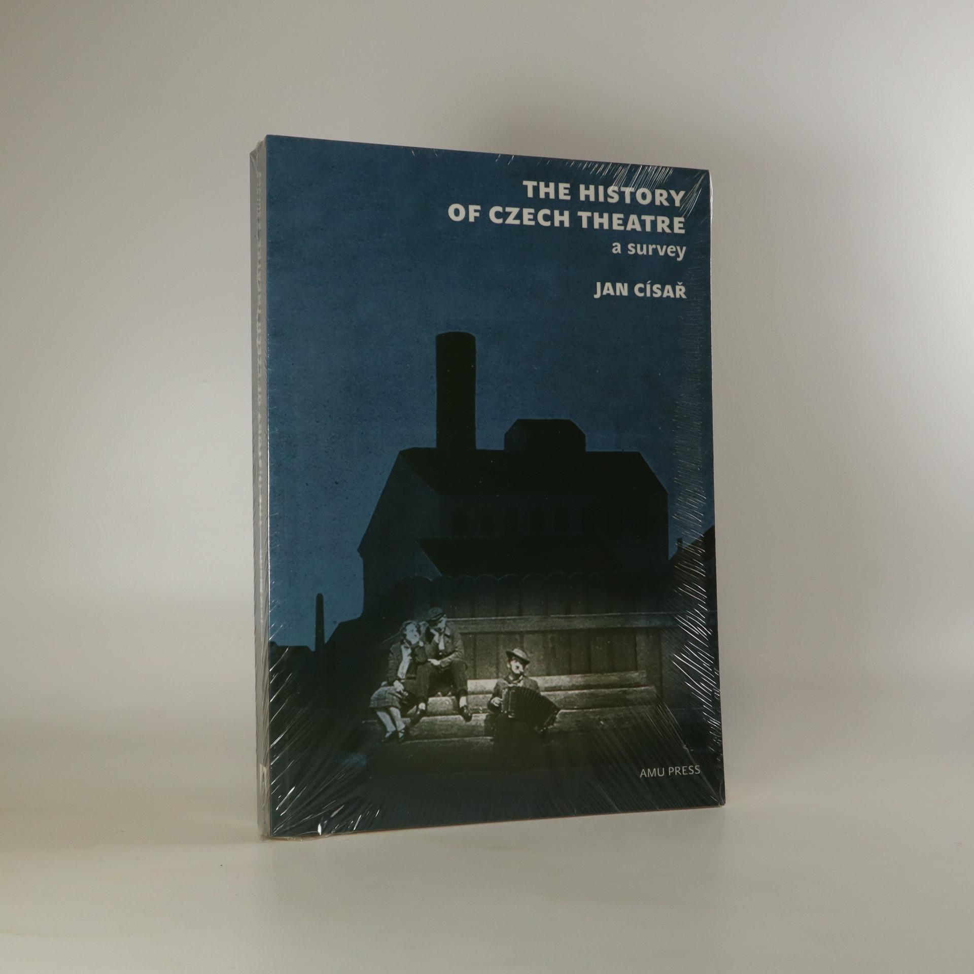 antikvární kniha The History of Czech Theatre. A Survey, 2010