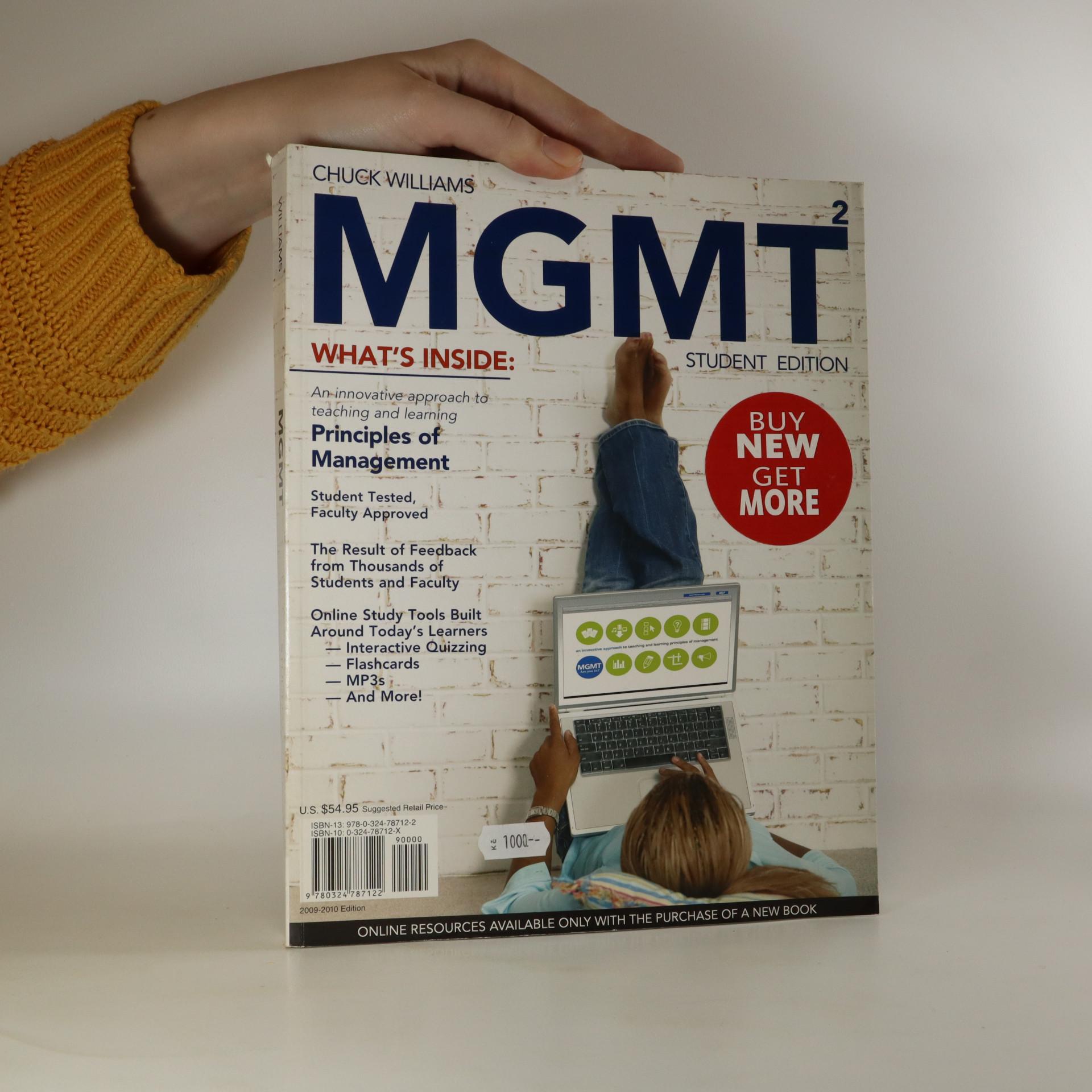 antikvární kniha MGMT2 Student Edition, neuveden
