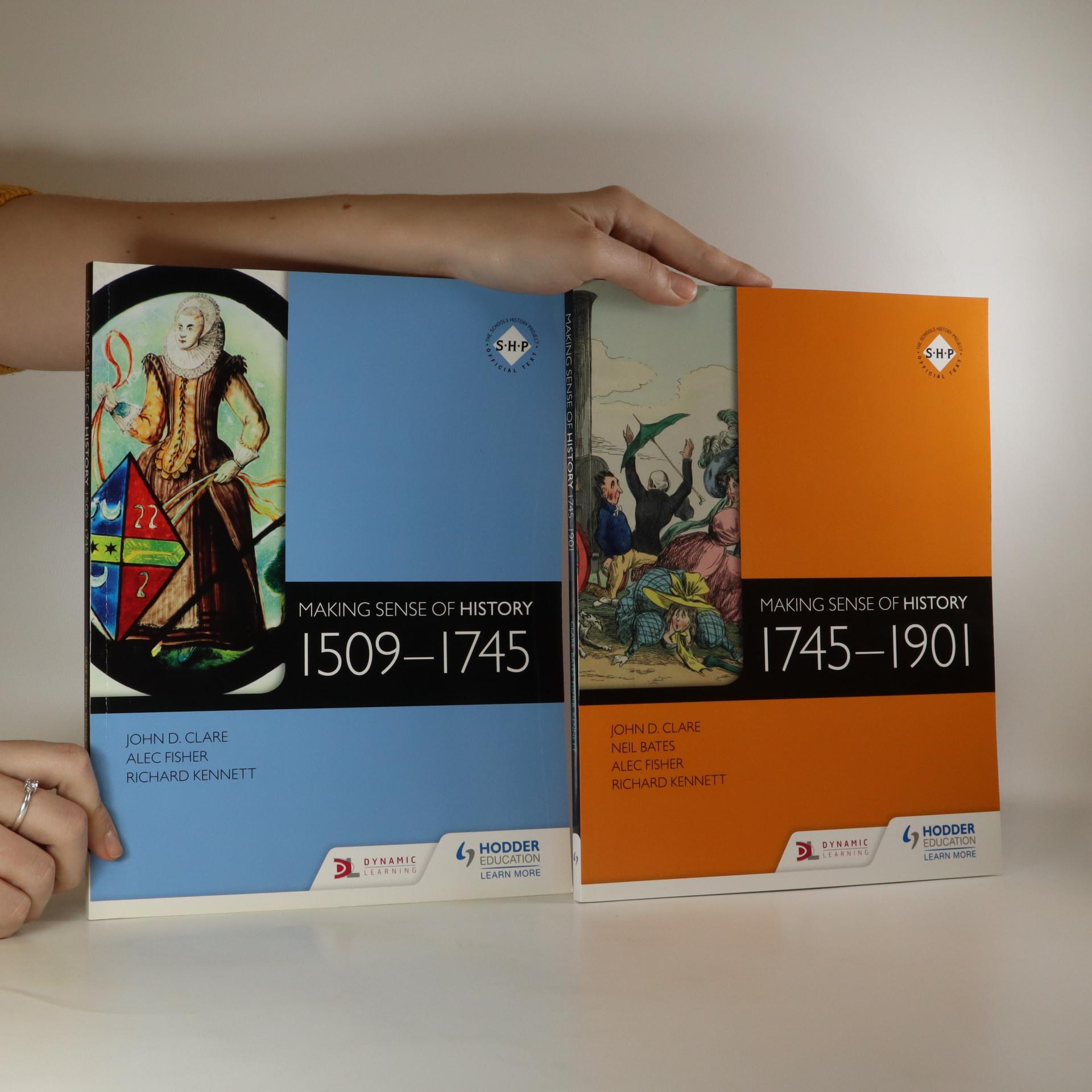 antikvární kniha Making Sense of History 1509-1745 and 1975-1901 (2 svazky), neuveden