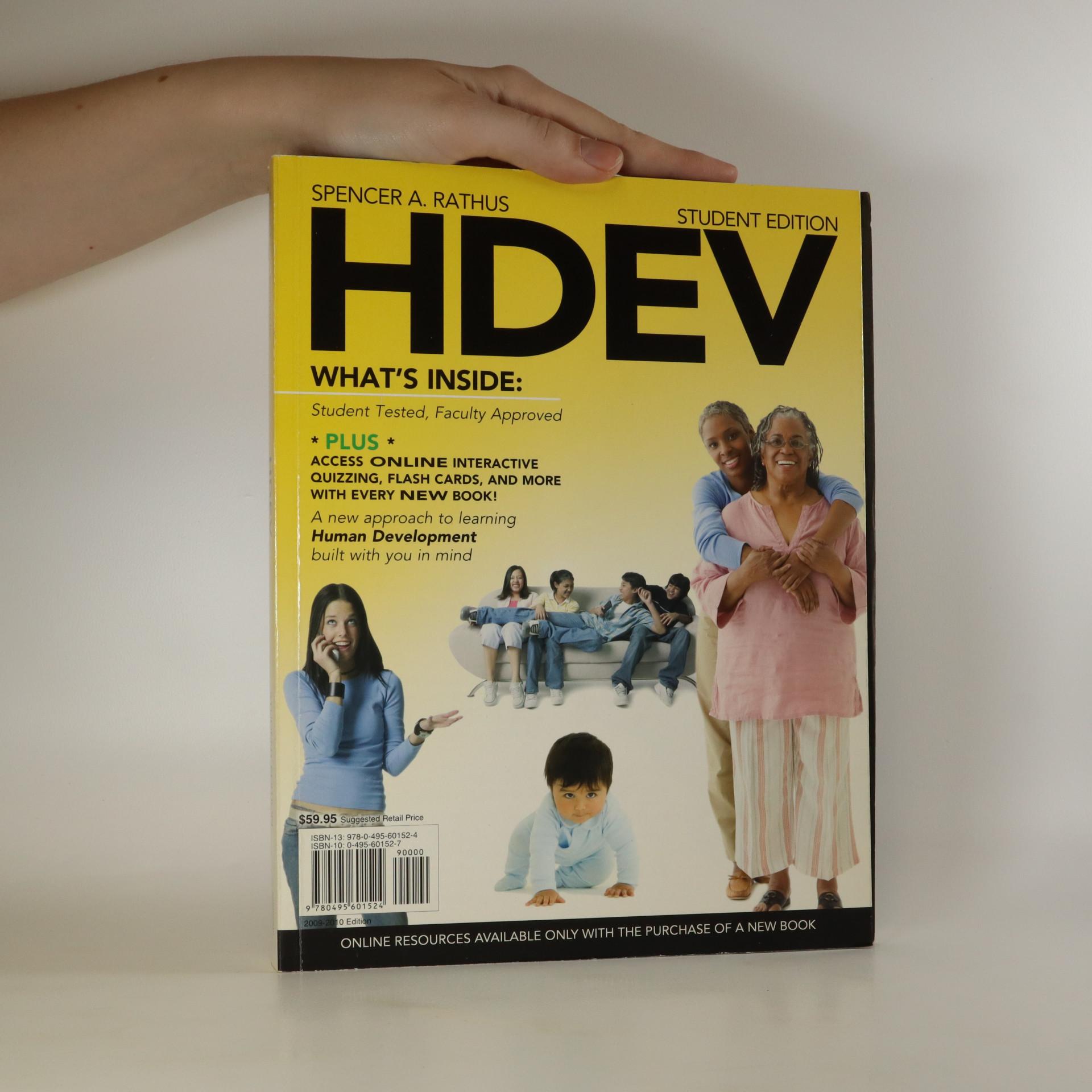 antikvární kniha HDEV. Student Edition, neuveden