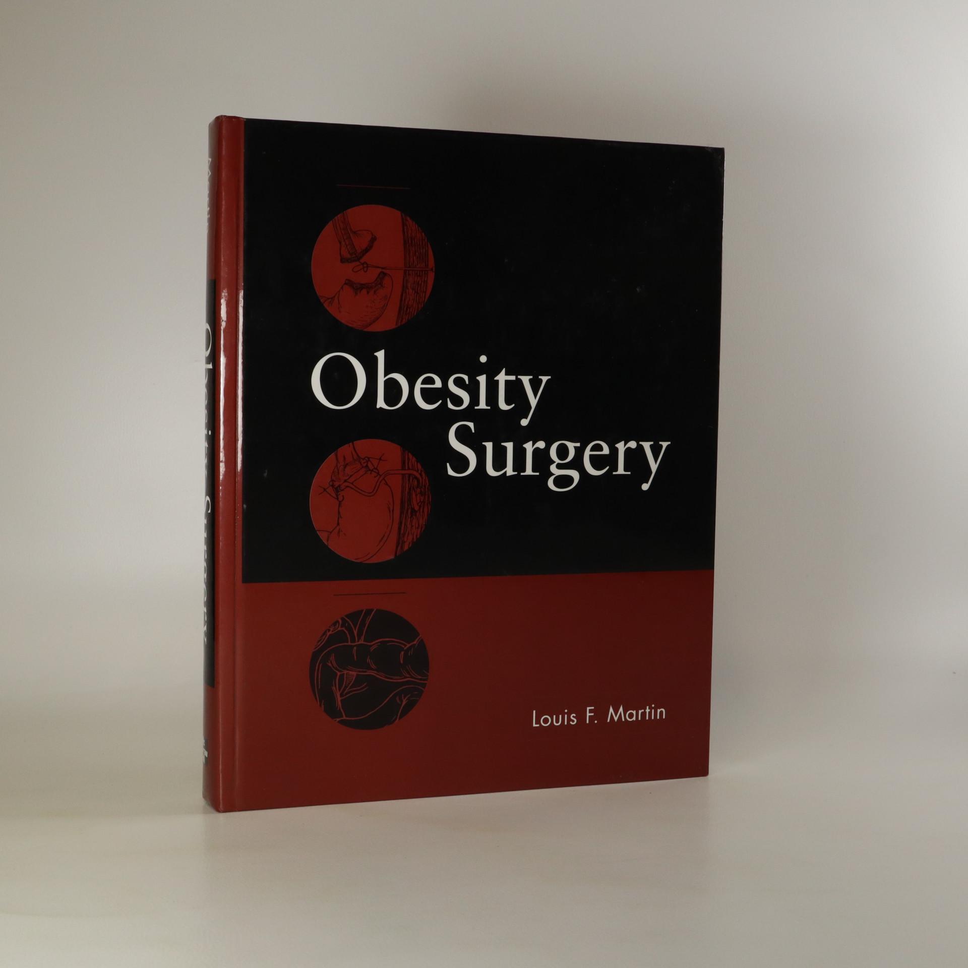 antikvární kniha Obesity Surgery, neuveden
