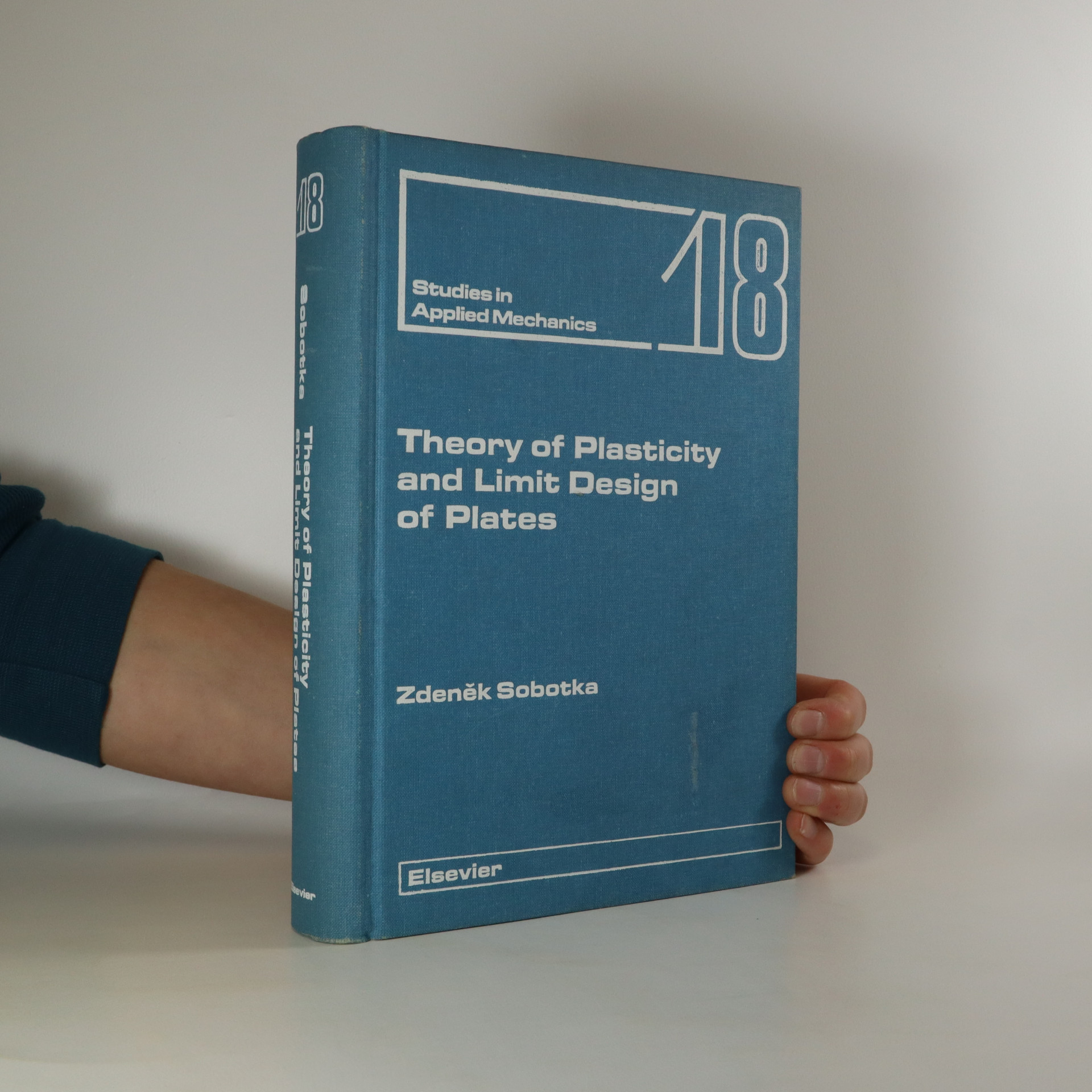 antikvární kniha Theory of Plasticity and Limit Design of Plates, 1989