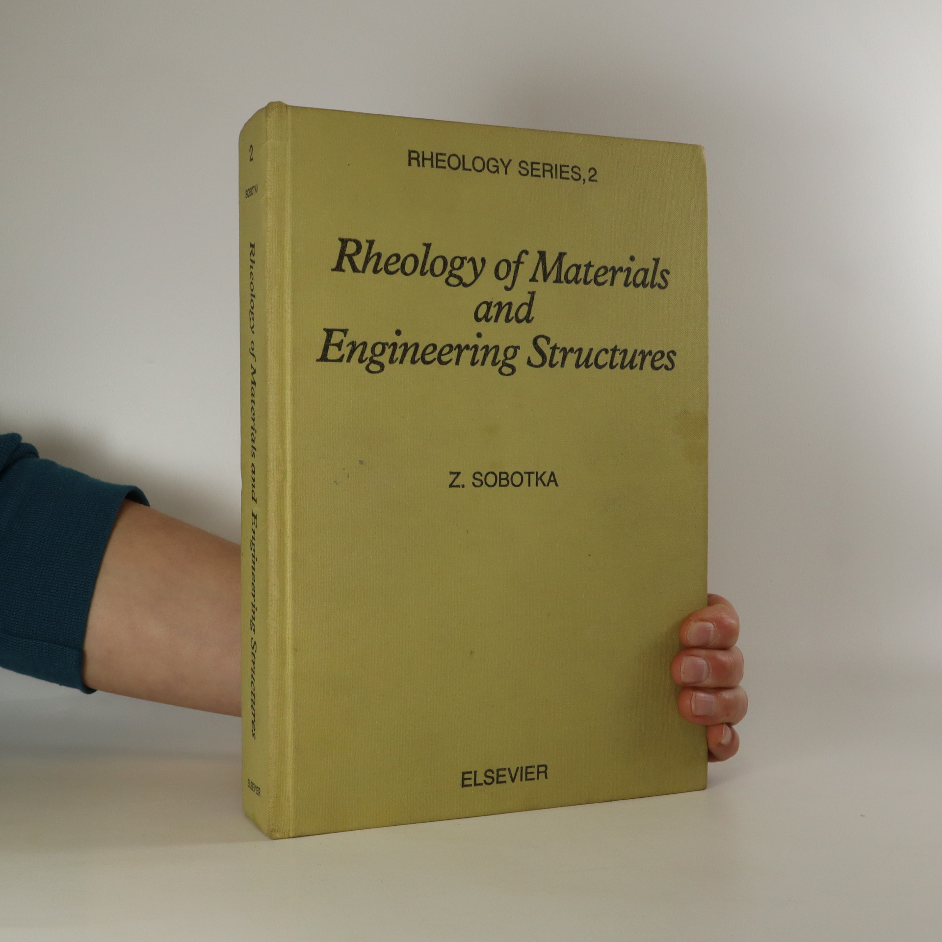 antikvární kniha Rheology of Materials and Engineering Structures (2. díl), 1984