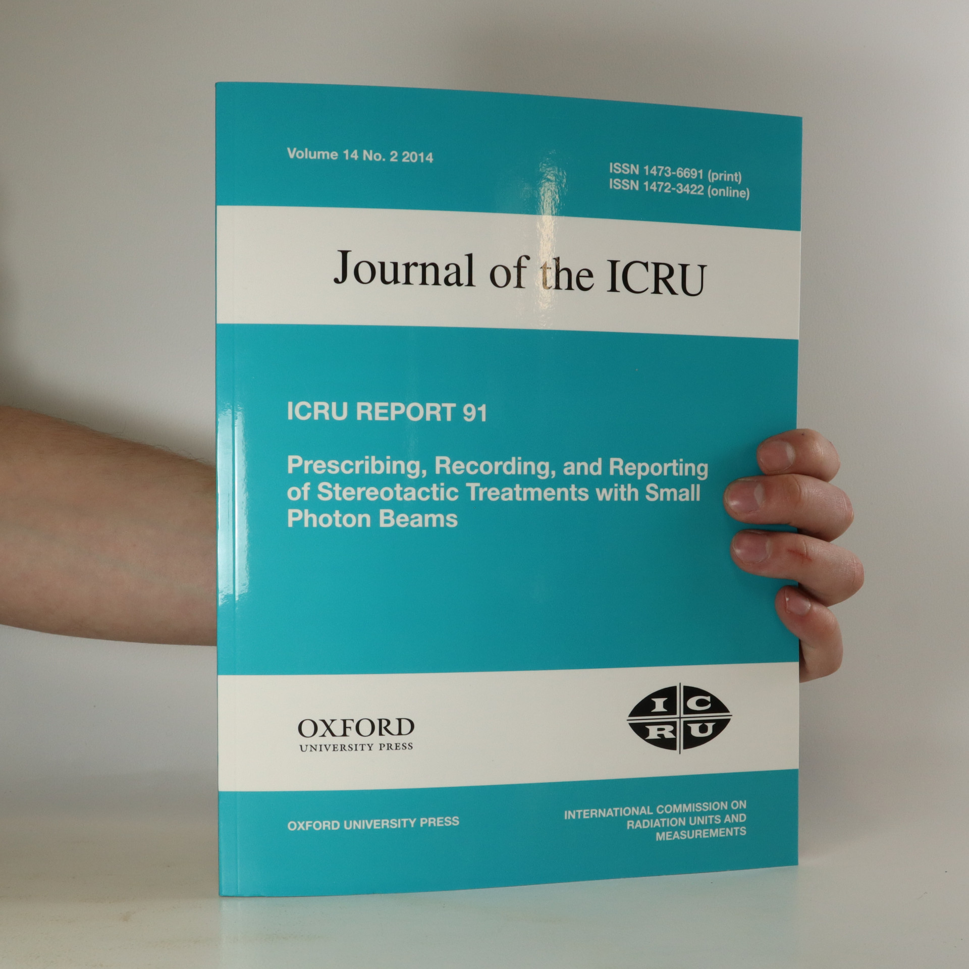 antikvární kniha Journal of the ICRU, neuveden