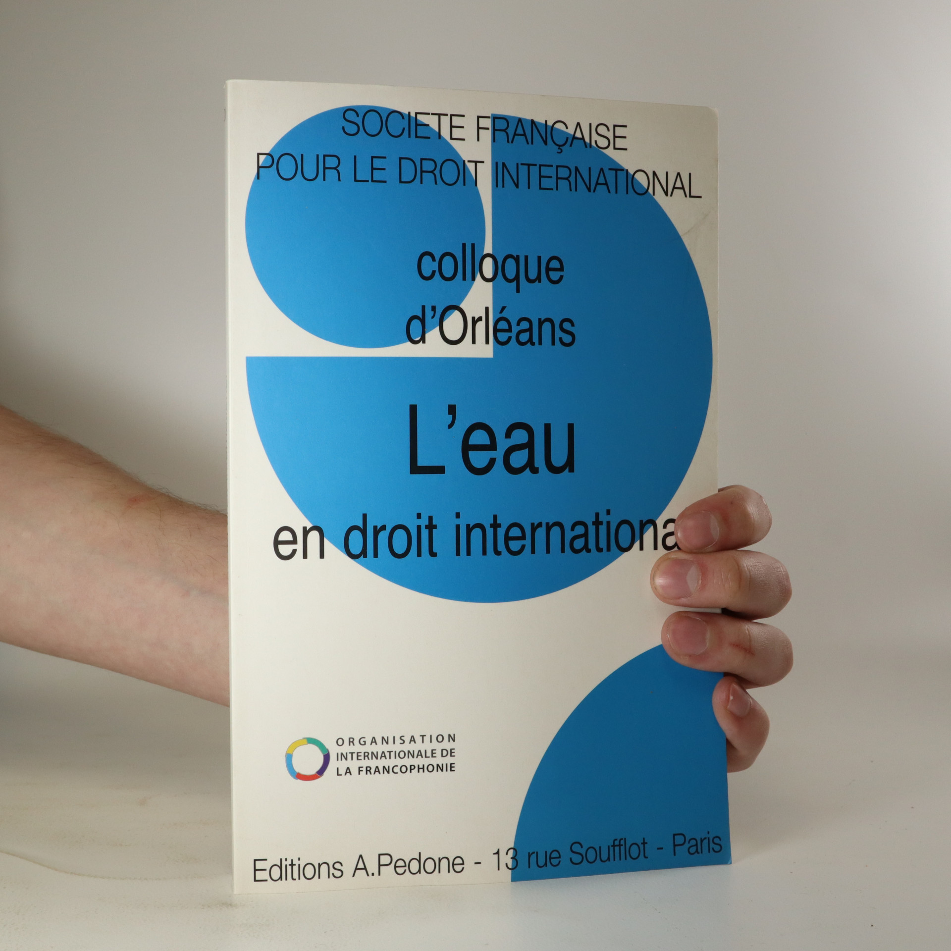 antikvární kniha Colloque d'Orleans. L'eau en droit international, neuveden