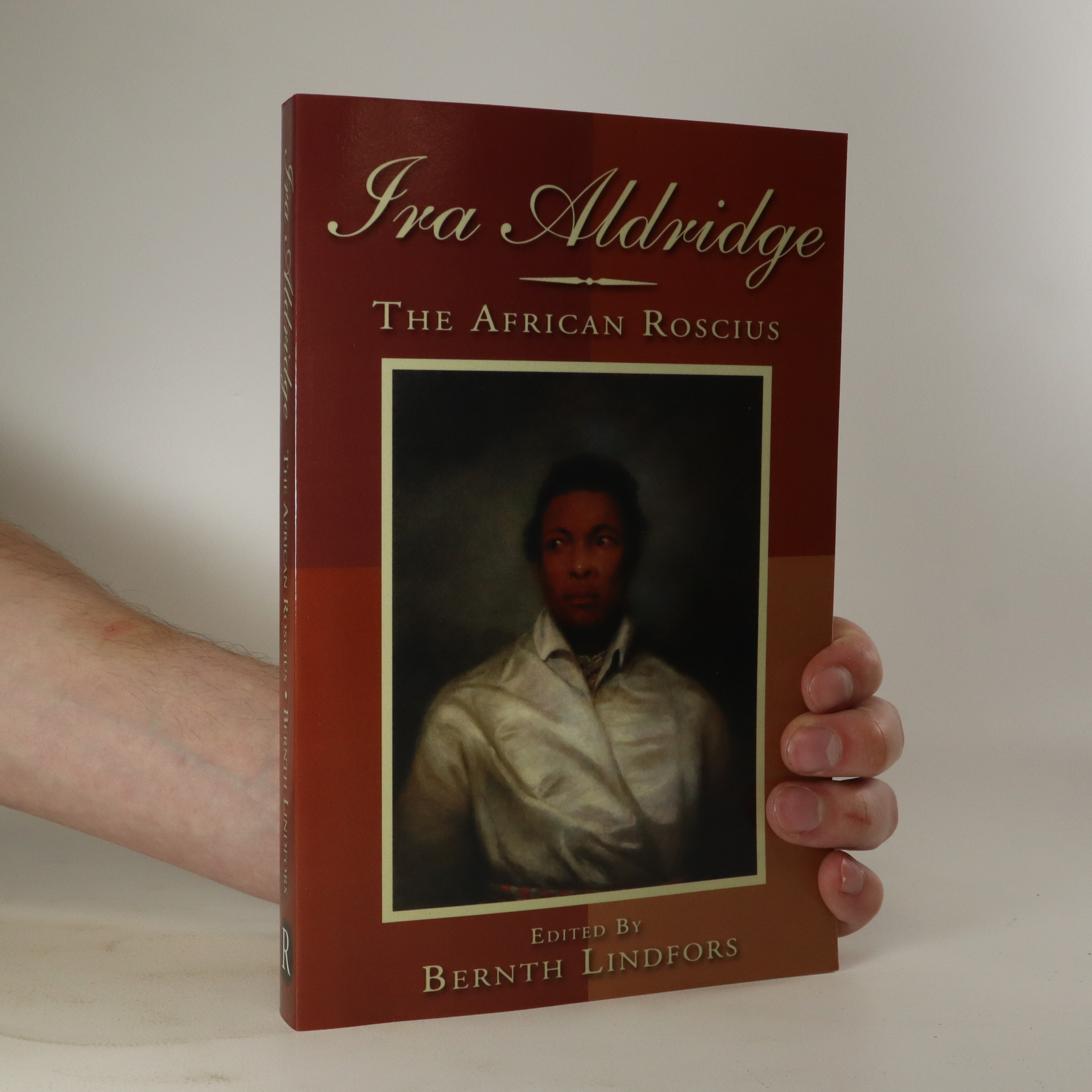 antikvární kniha Ira Aldridge. The African Roscius, neuveden