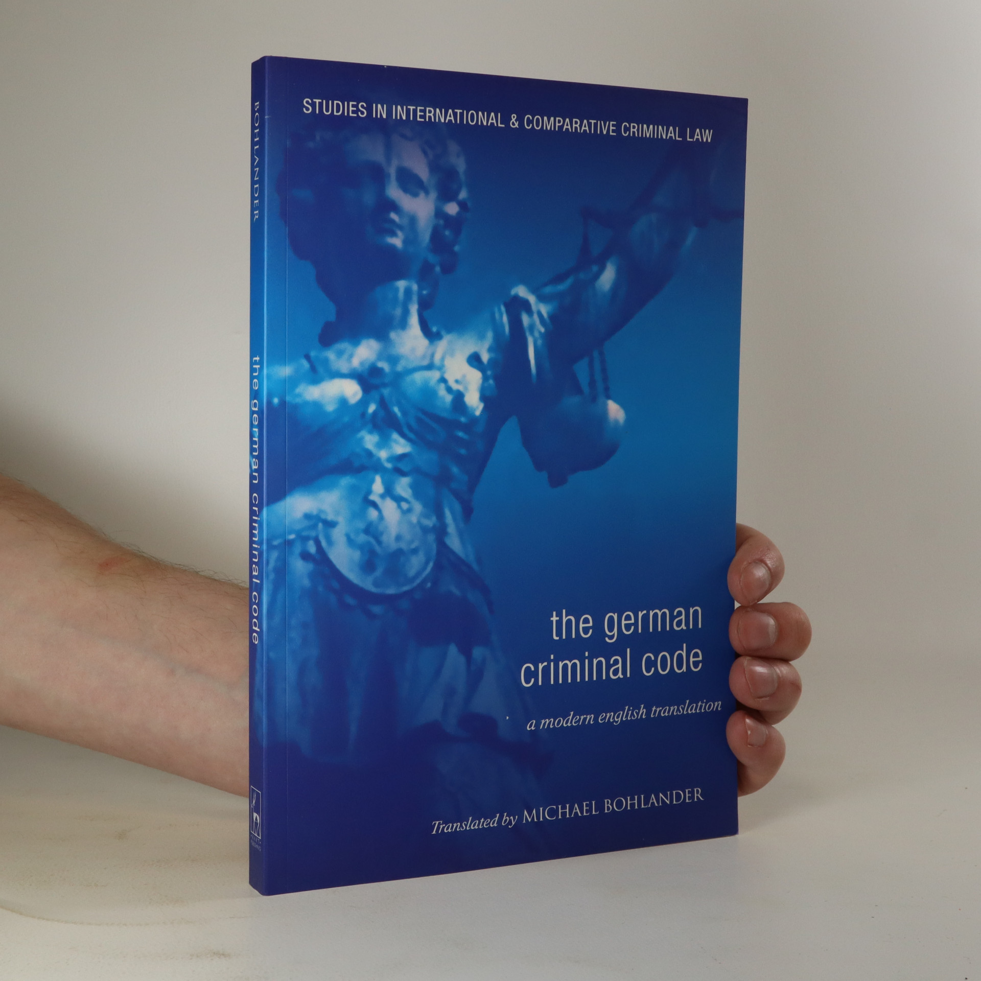 antikvární kniha The German Criminal Code, neuveden