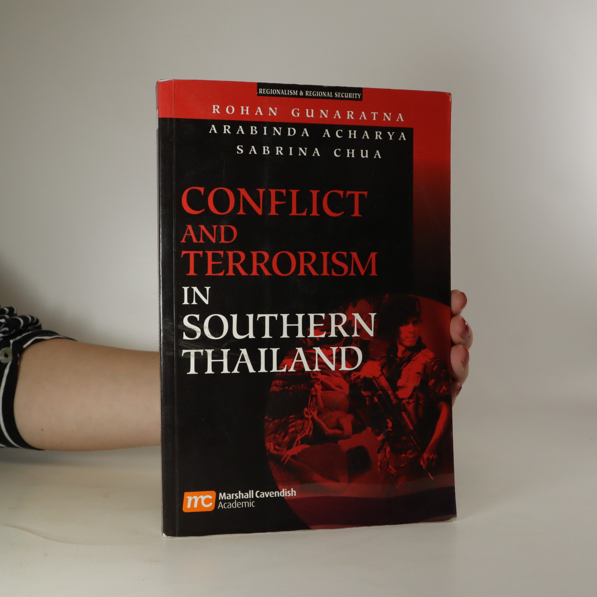 antikvární kniha Conflict and Terrorism in Southern Thailand, neuveden