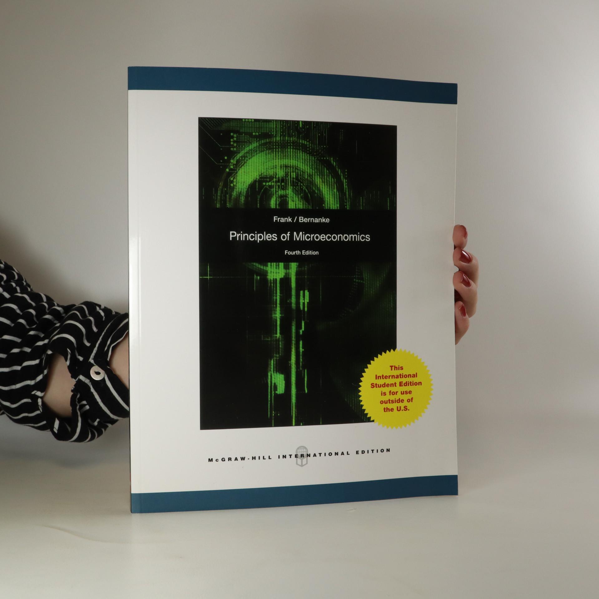 antikvární kniha Principles of microeconomics, 2010