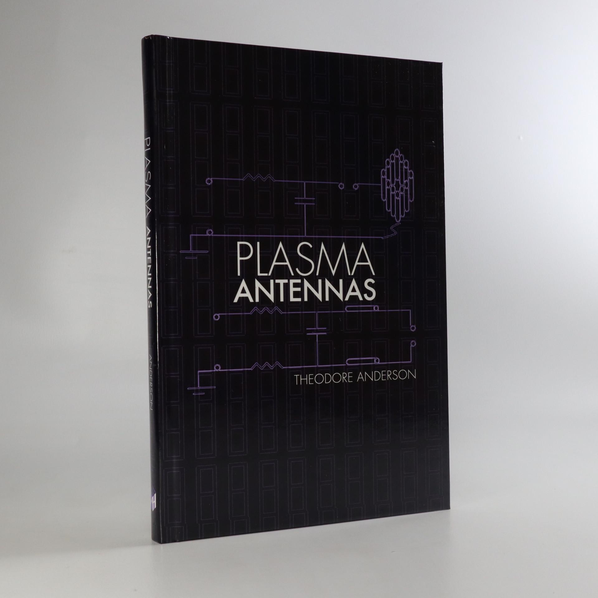 antikvární kniha Plasma antennas, neuveden