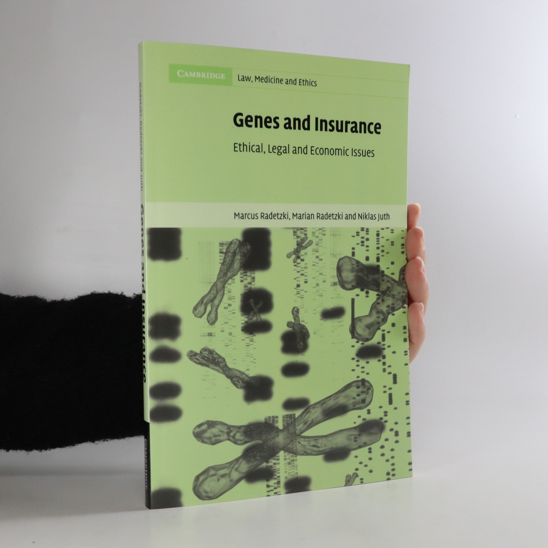 antikvární kniha Genes and insurance. Ethical, legal and economic issues, 2003