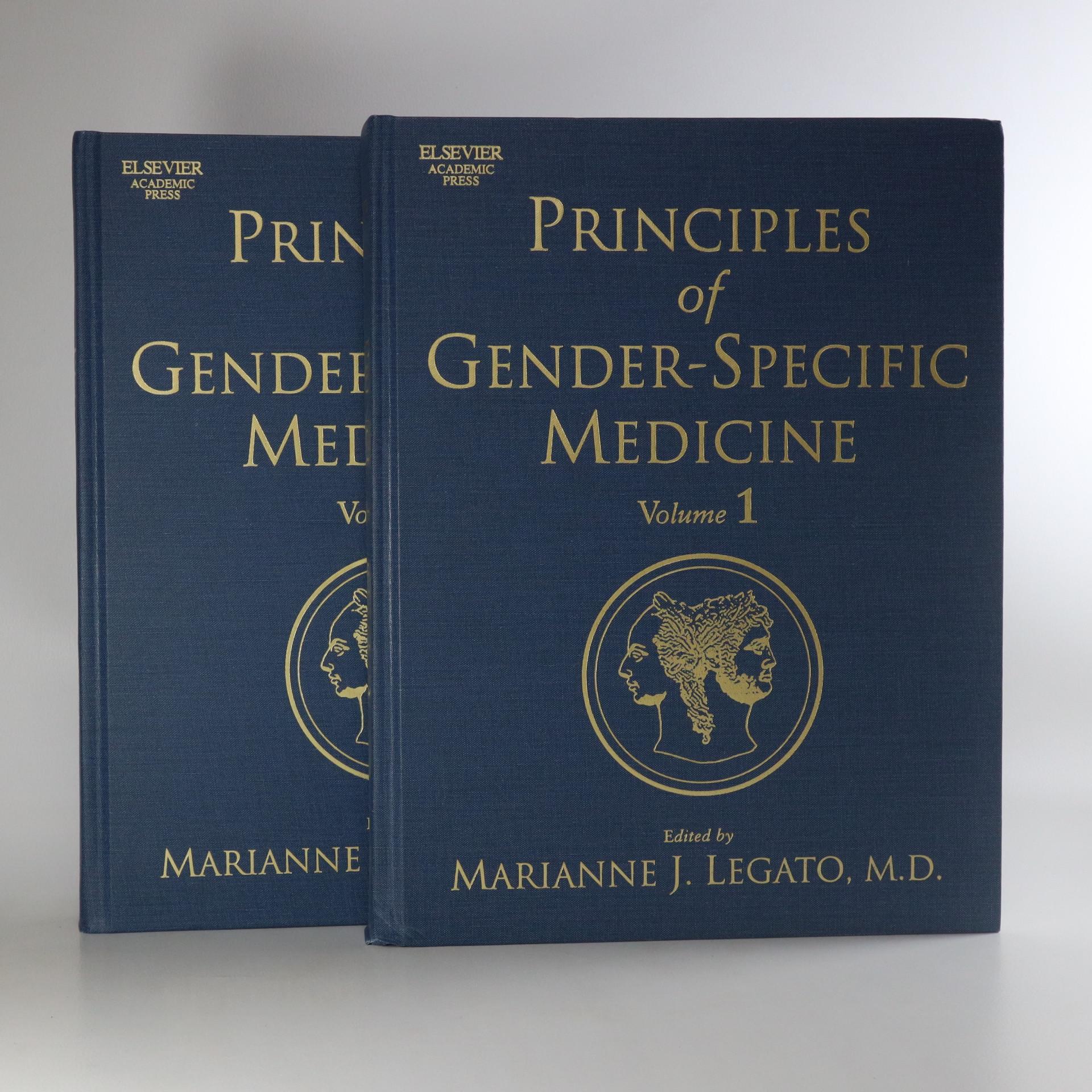 antikvární kniha Principles of Gender-specific Medicine. Volume I-II (2 svazky), neuveden