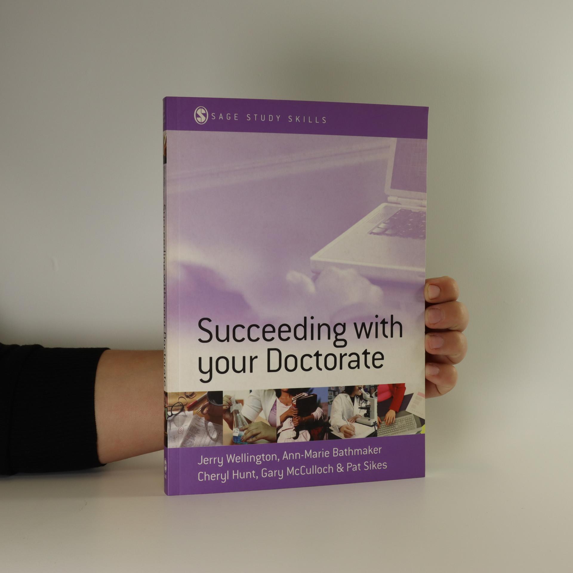 antikvární kniha Succeeding with your doctorate, neuveden