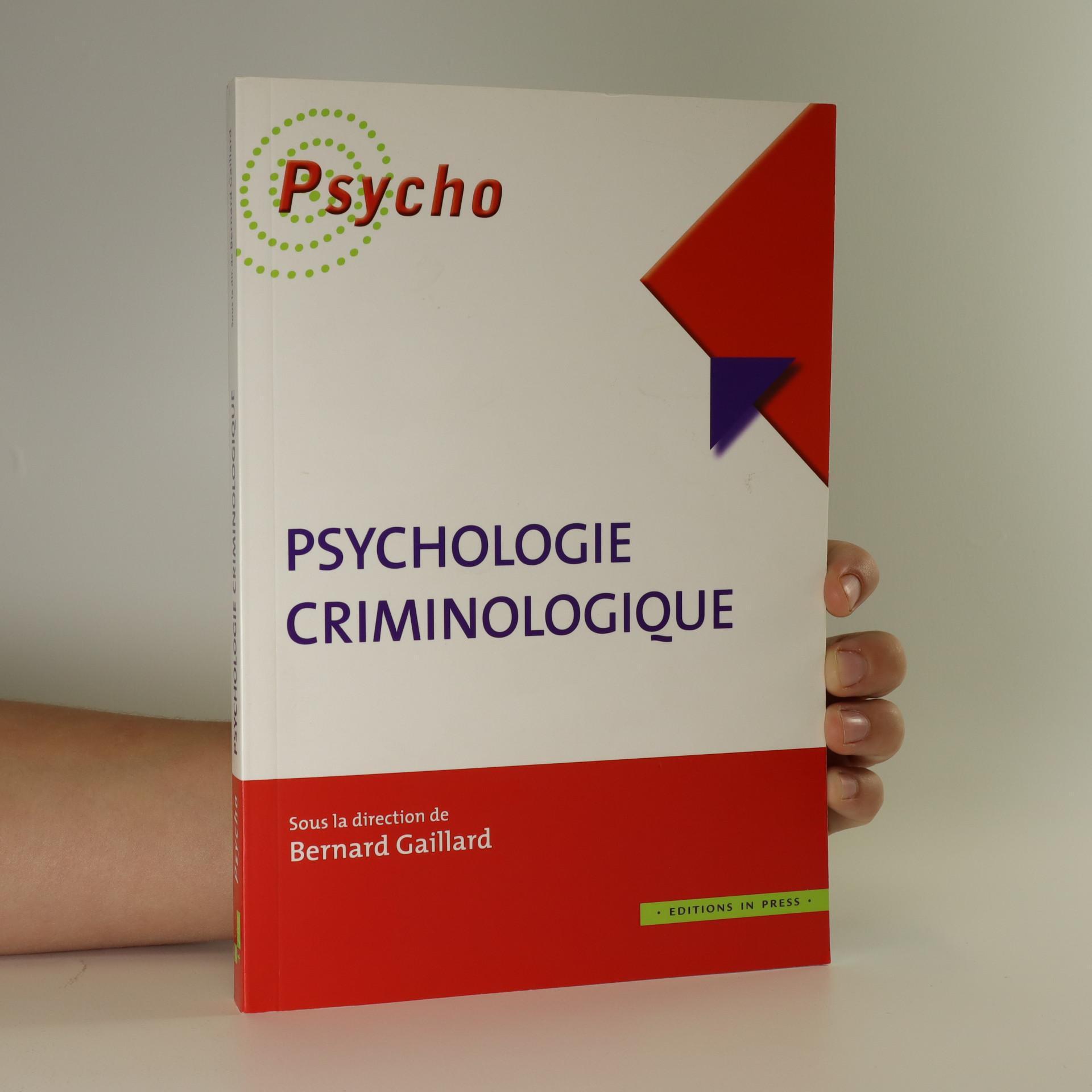 antikvární kniha Psychologie Criminologique, neuveden
