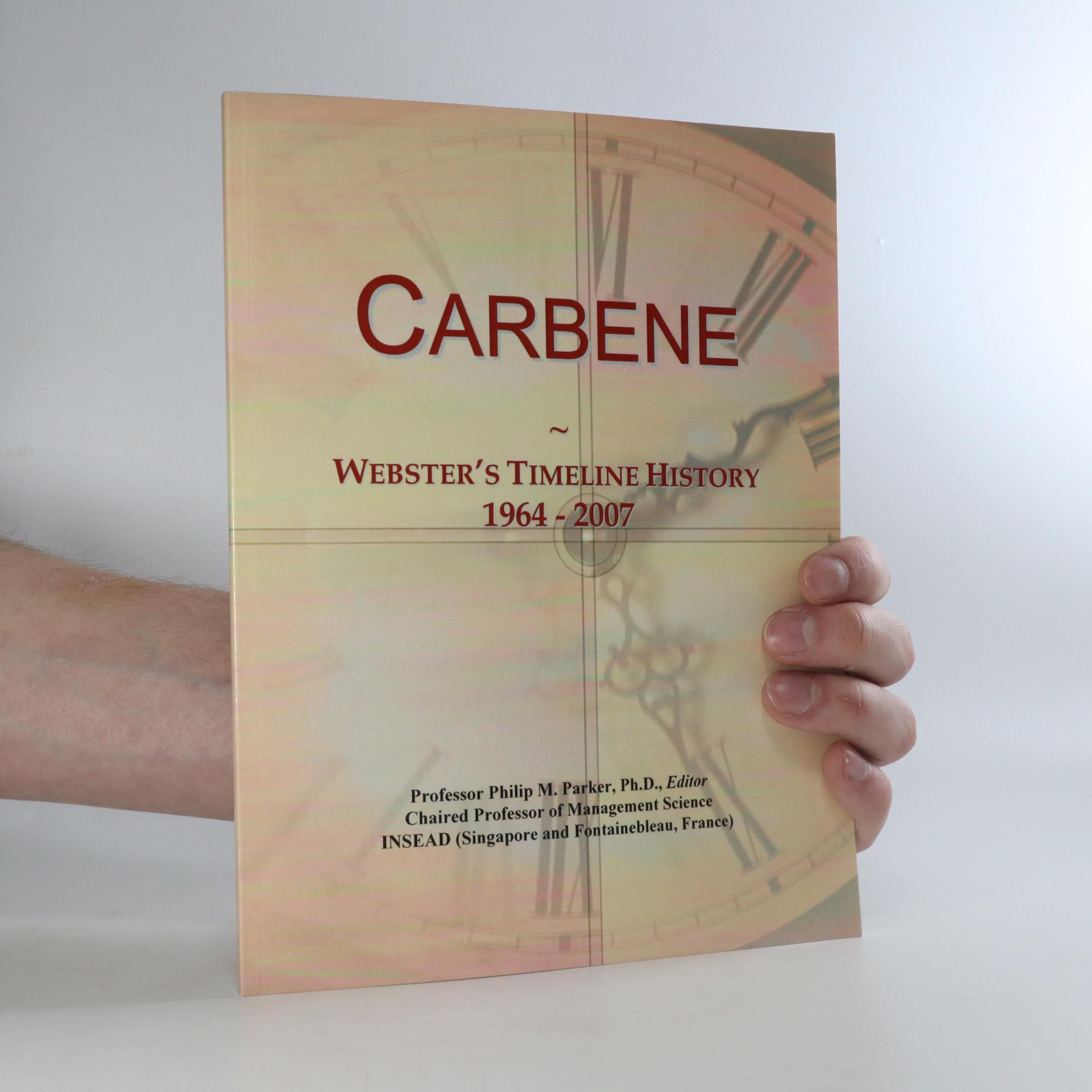 antikvární kniha Carbene. Webster's Timeline History, neuveden