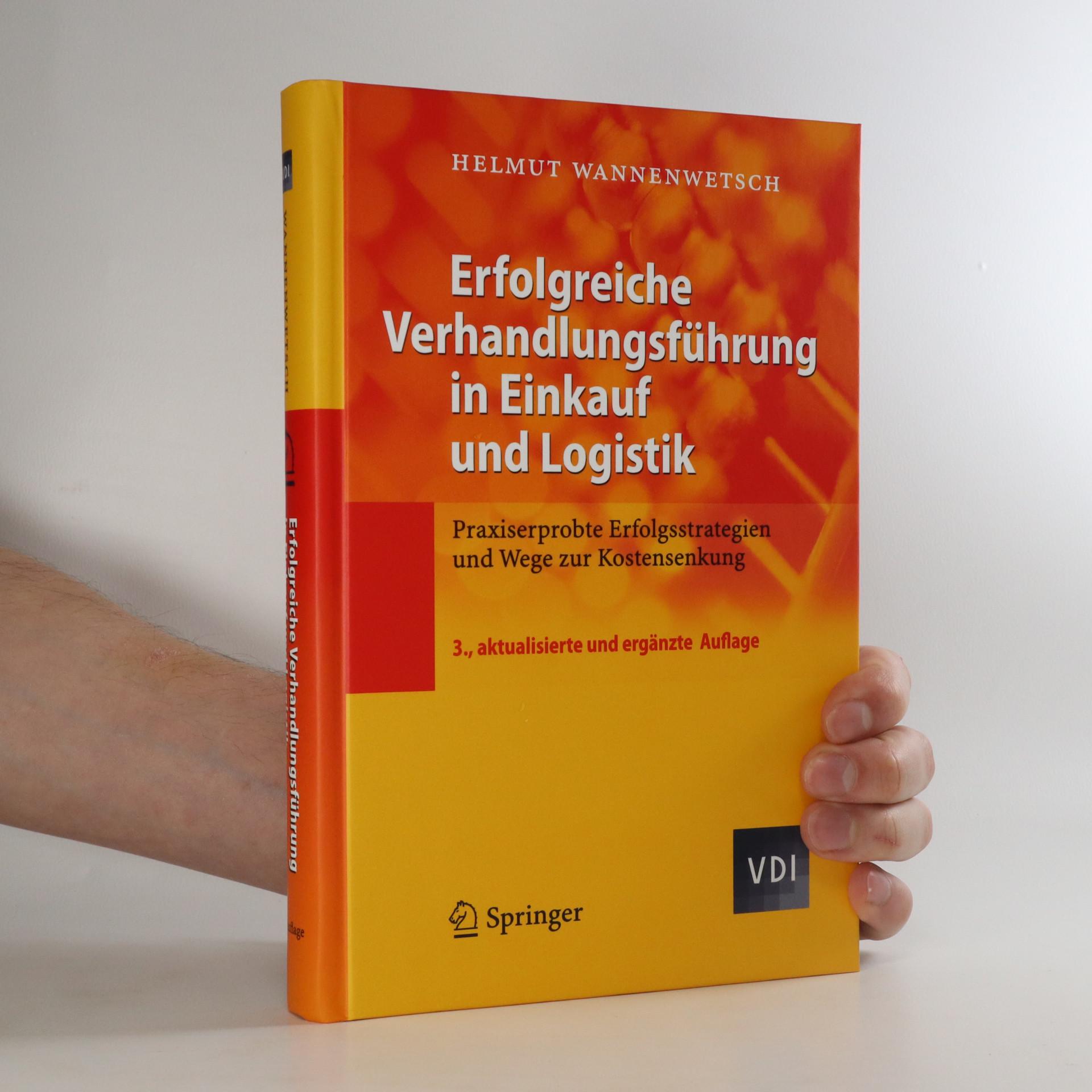 antikvární kniha Erfolgreiche Verhandlungsführung in Einkauf und Logistik, neuveden