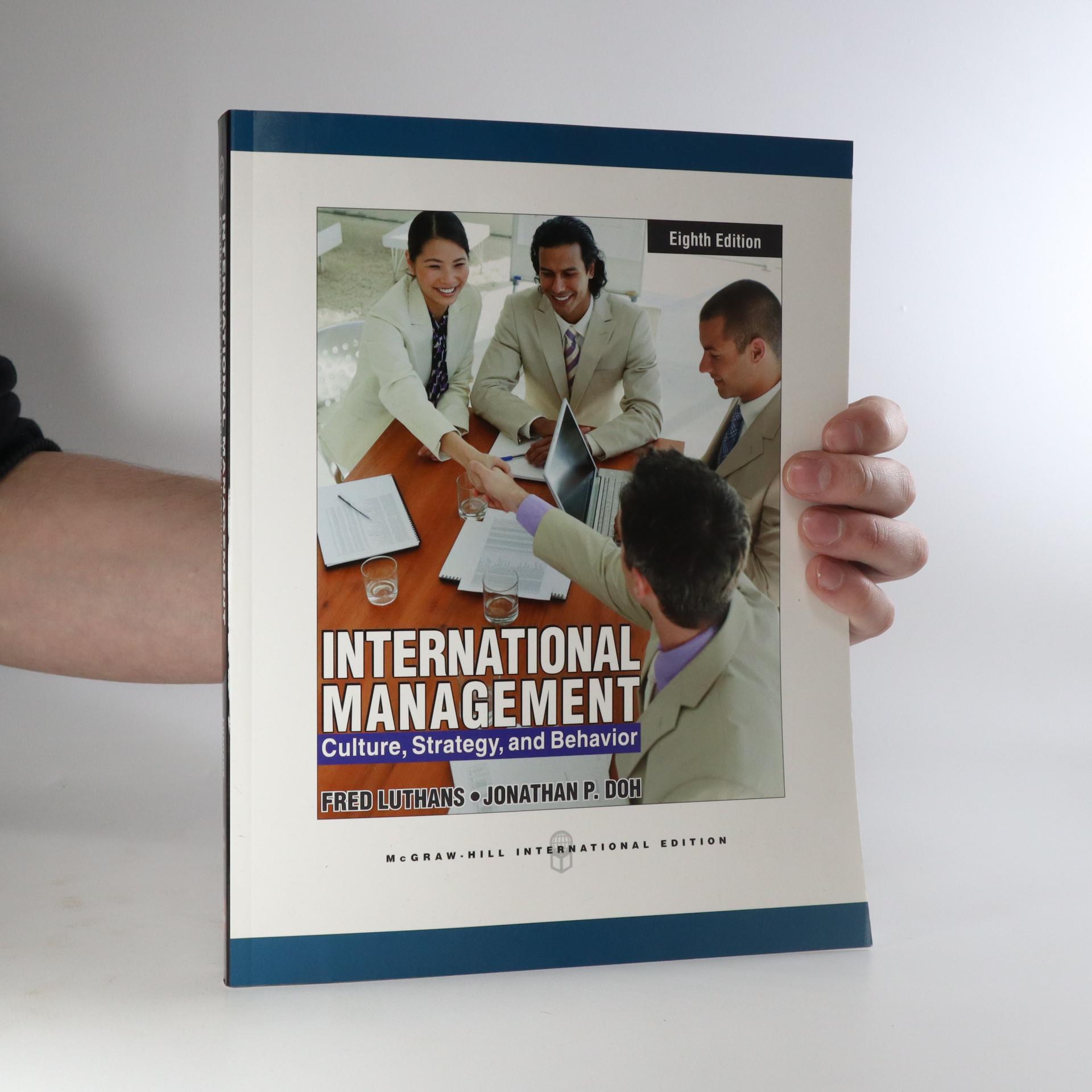 antikvární kniha International Management, neuveden