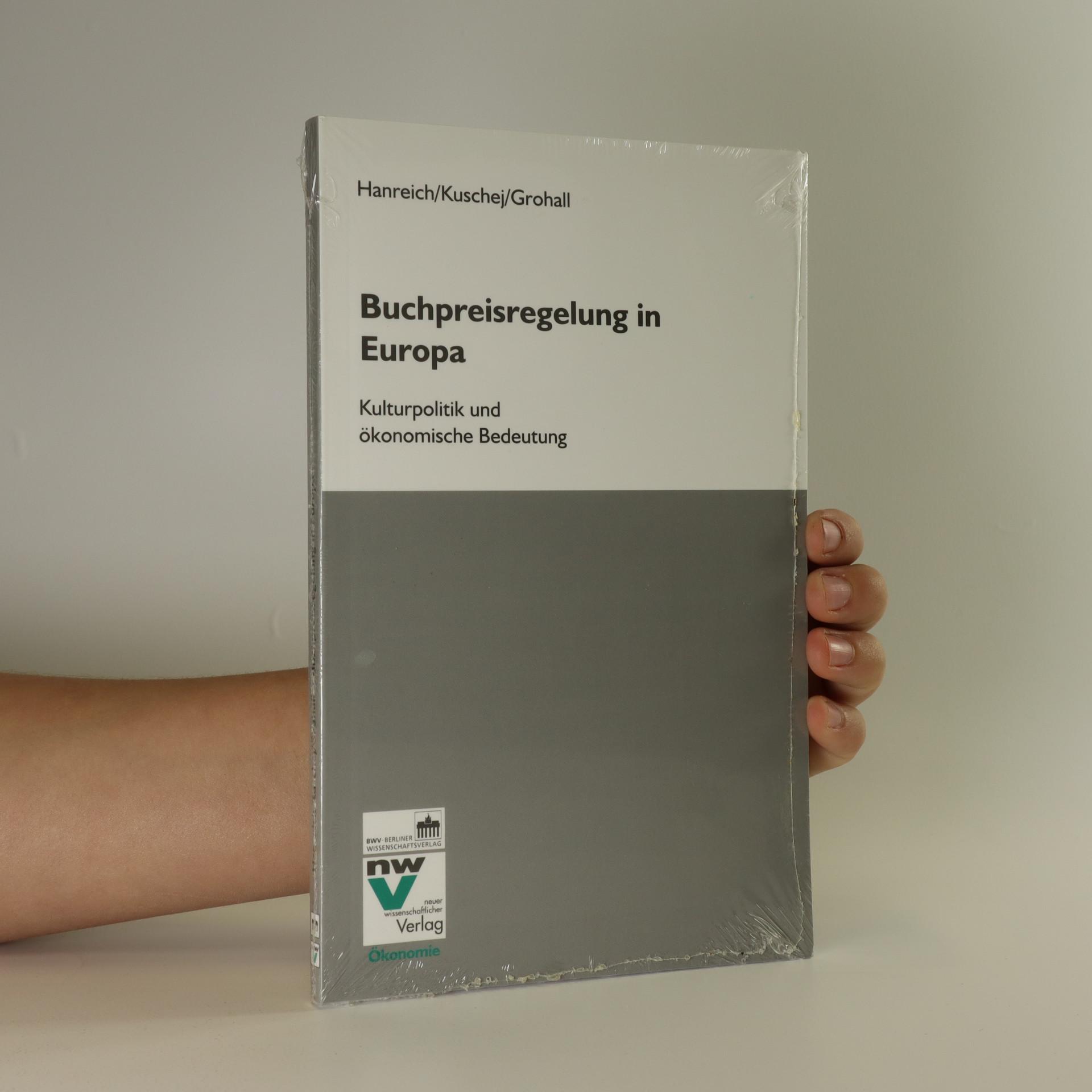 antikvární kniha Buchpreisregelung in Europa, neuveden