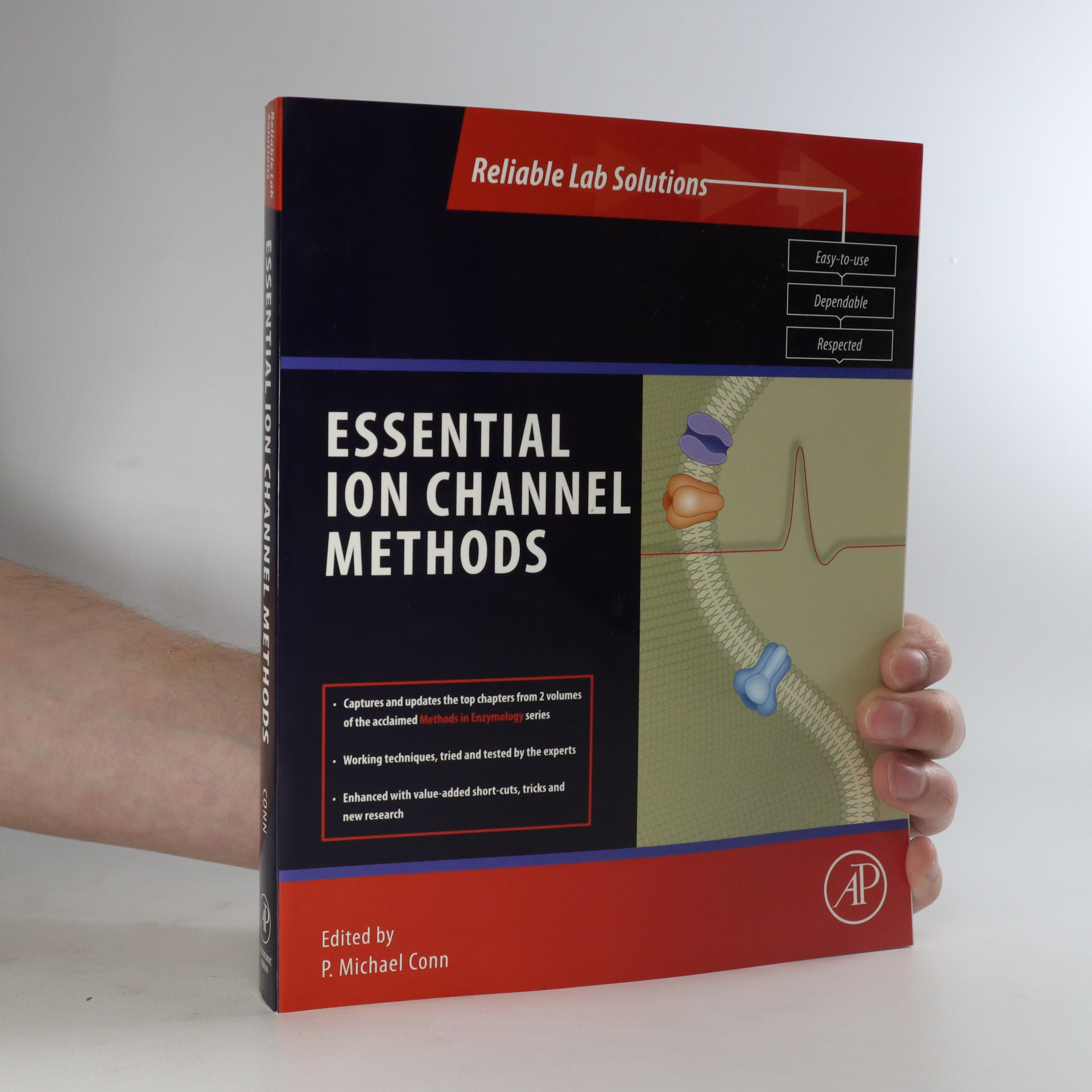 antikvární kniha Essential ion channel methods, neuveden