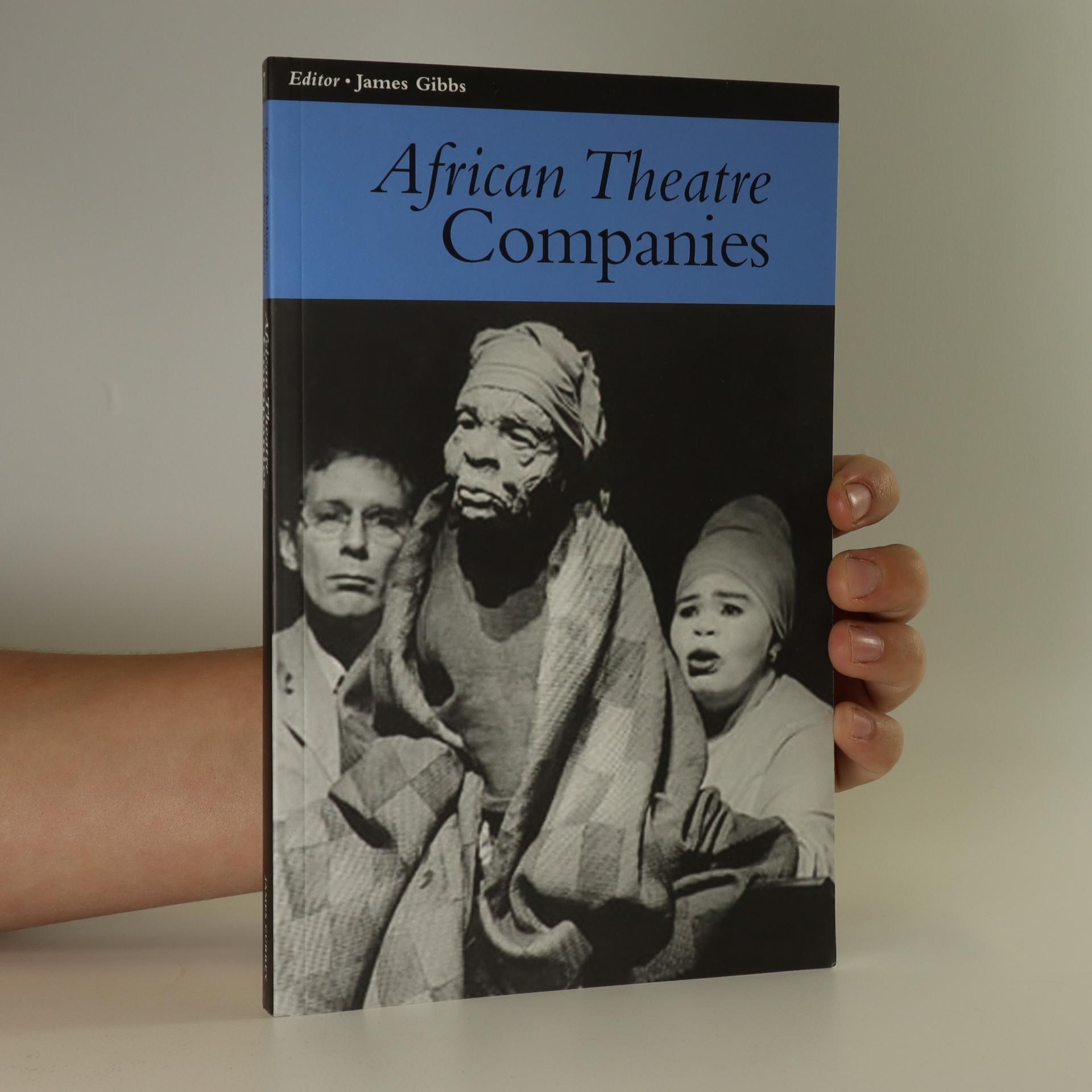 antikvární kniha African theatre. Companies, neuveden